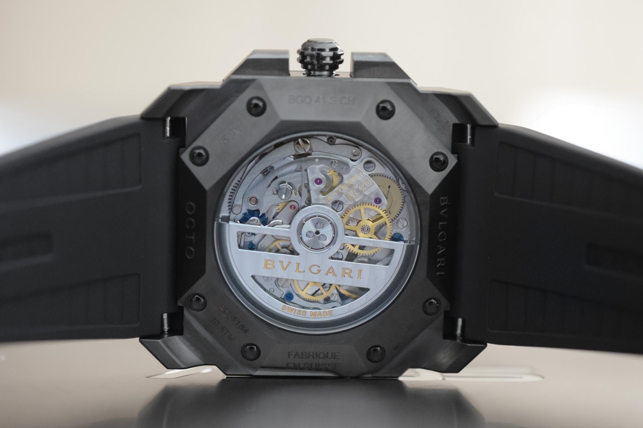 Bvlgari Octo L'originale Chronograph Black Edition
