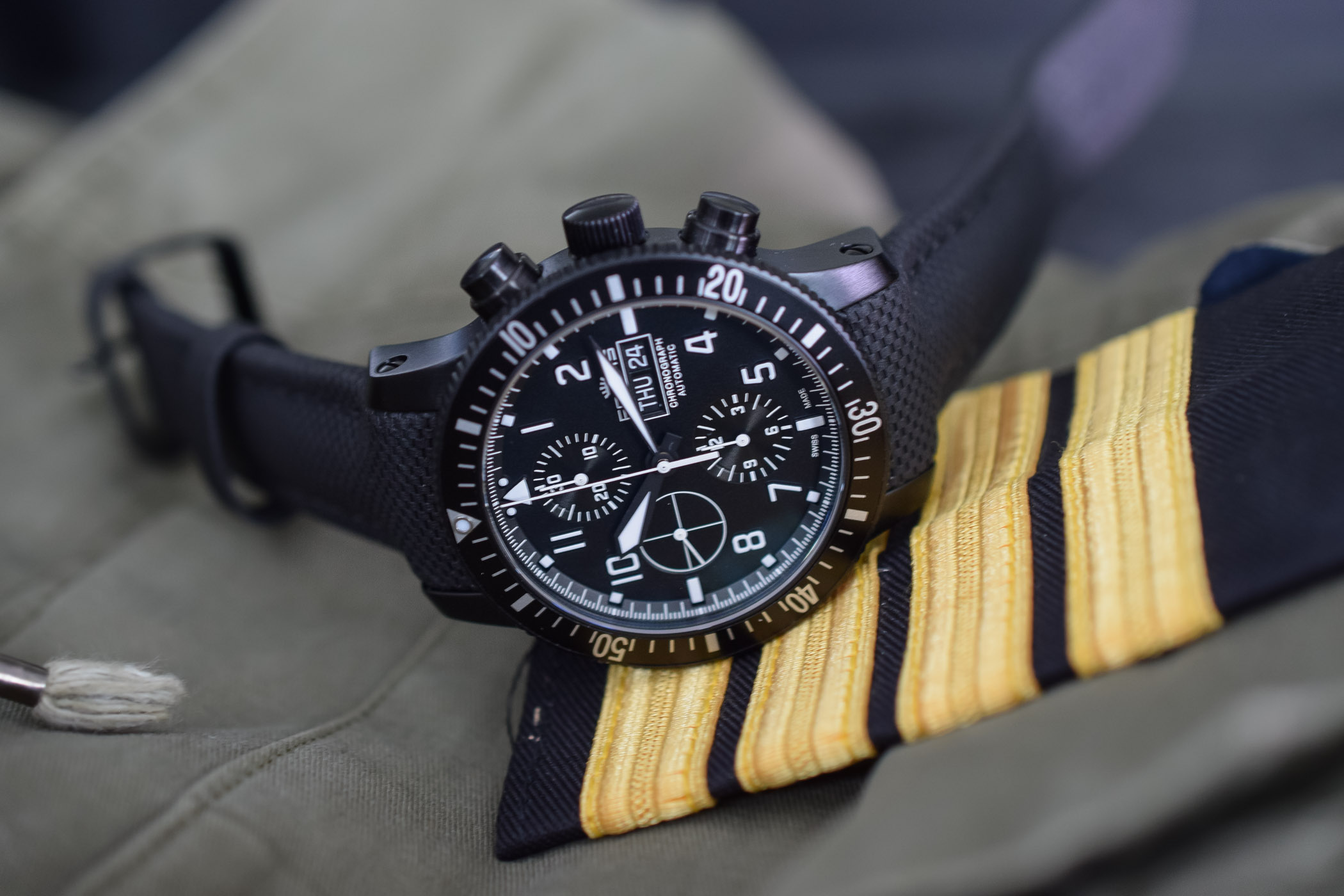 Fortis Aeromaster Mission Timer Chronograph