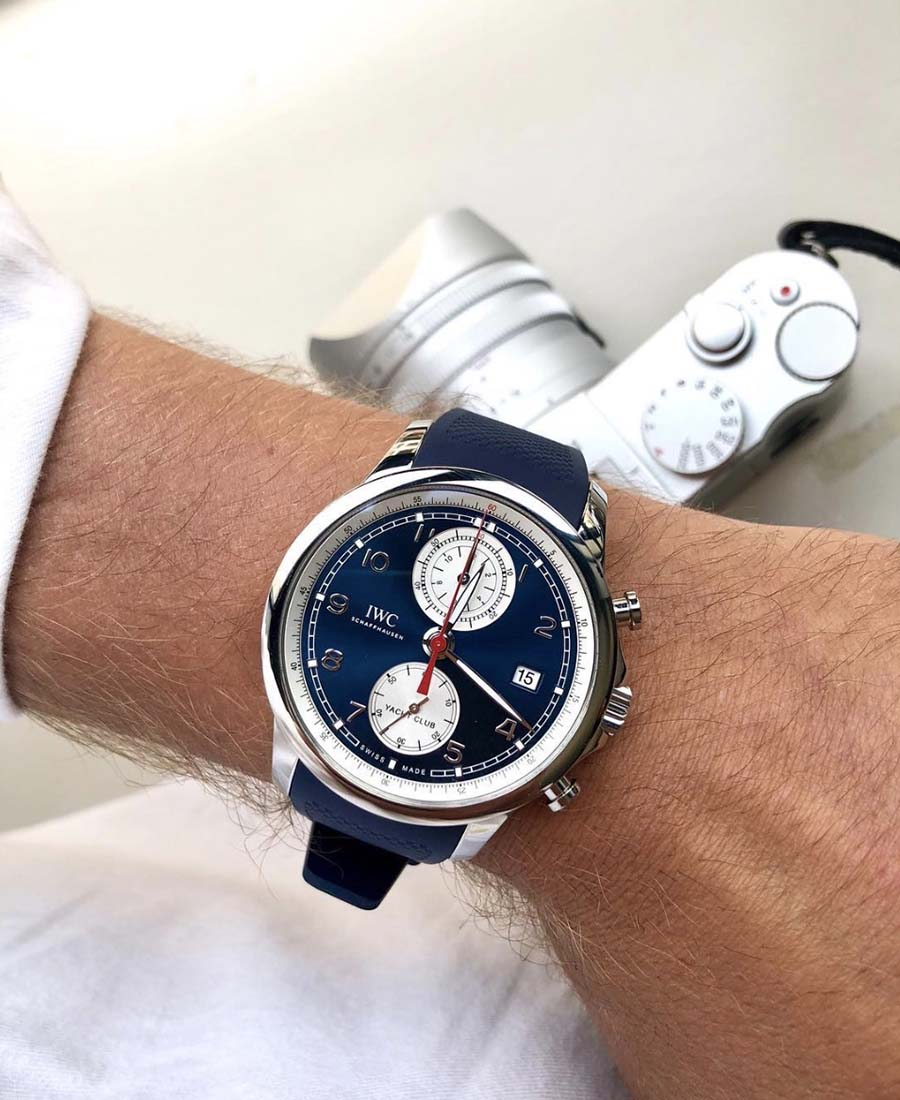 iwc portugieser yacht club chronograph summer edition