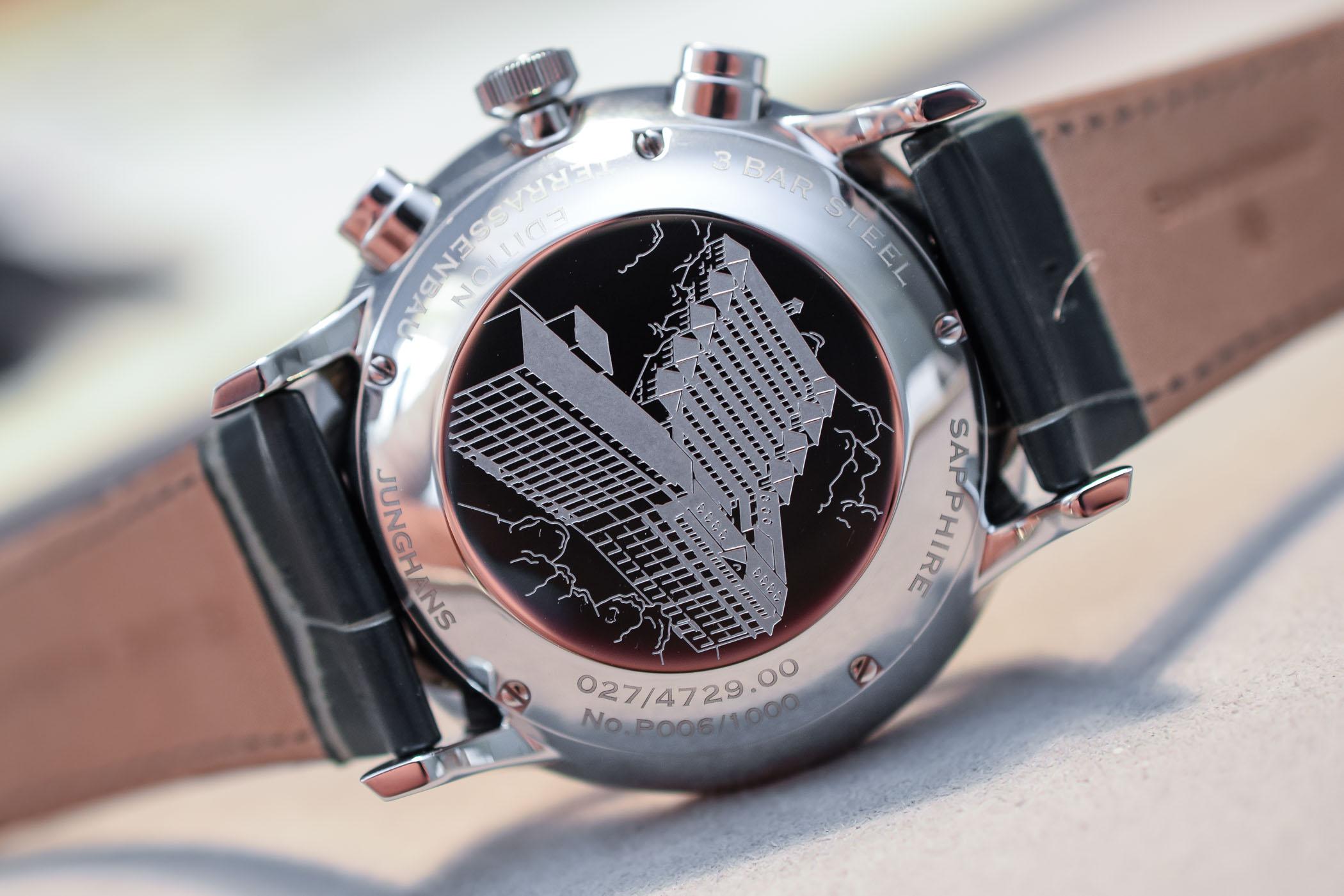 Junghans Meister Chronoscope Terrassenbau Limited Edition