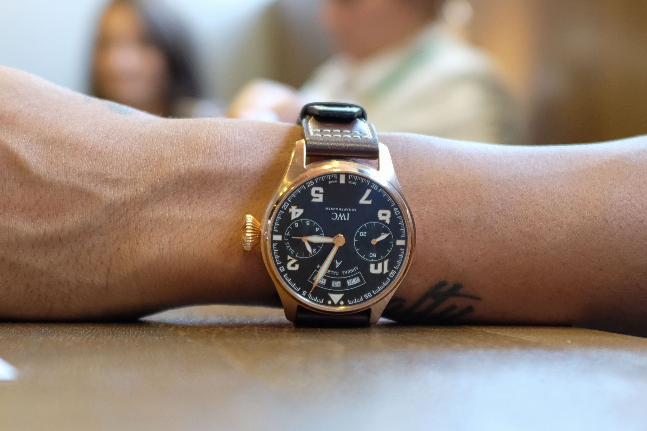 Interview with Lewis Hamilton about Formula 1, IWC Watches and what may be next