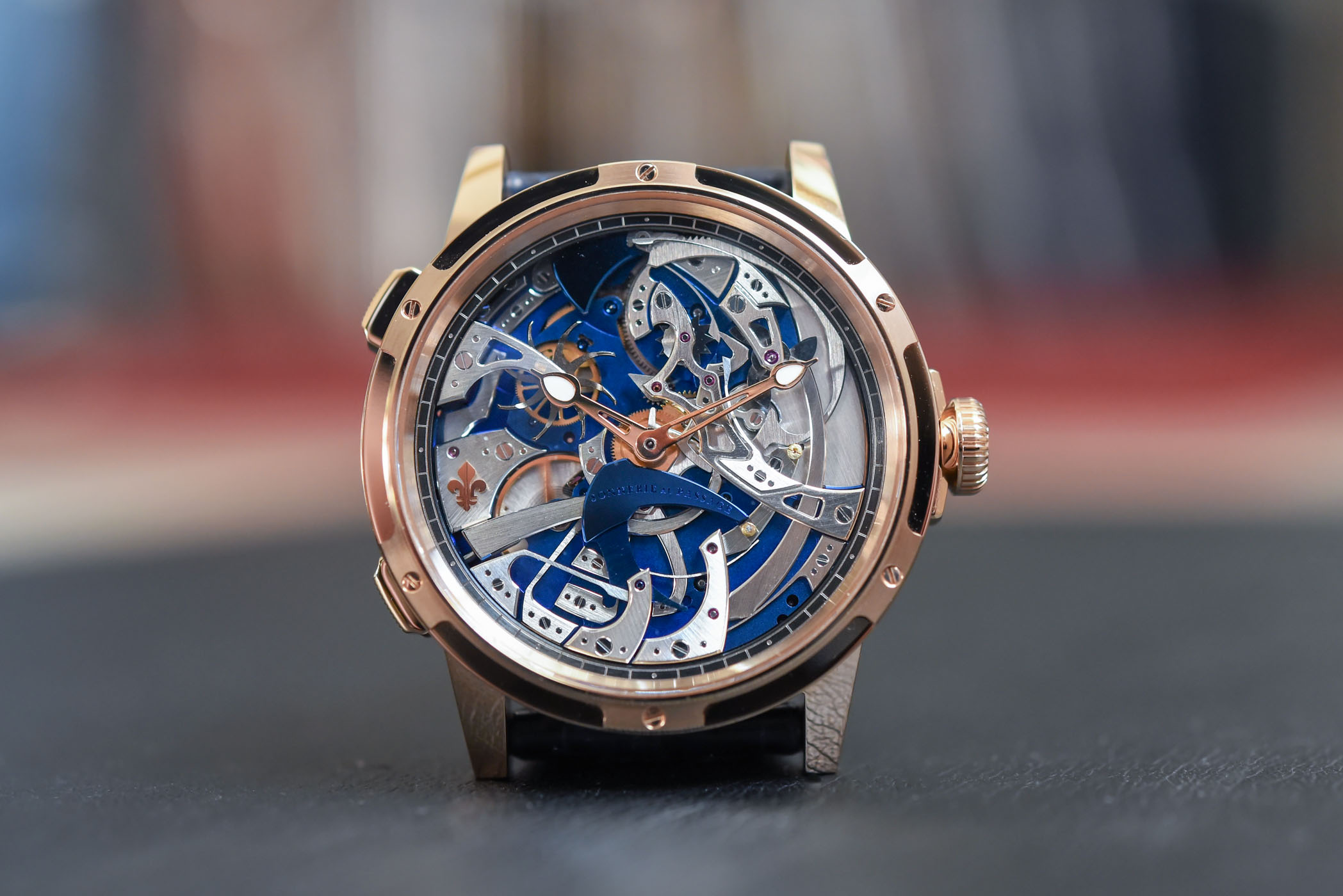 Louis Moinet Ultravox Hour Strike