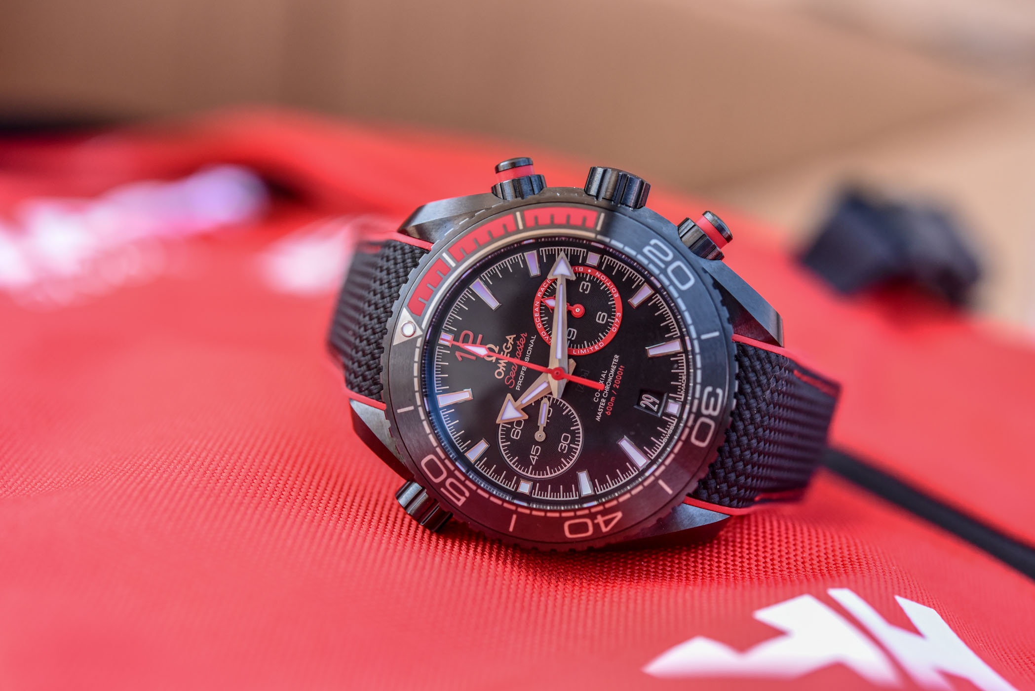 Omega Planet Ocean Deep Black Volvo Ocean Race