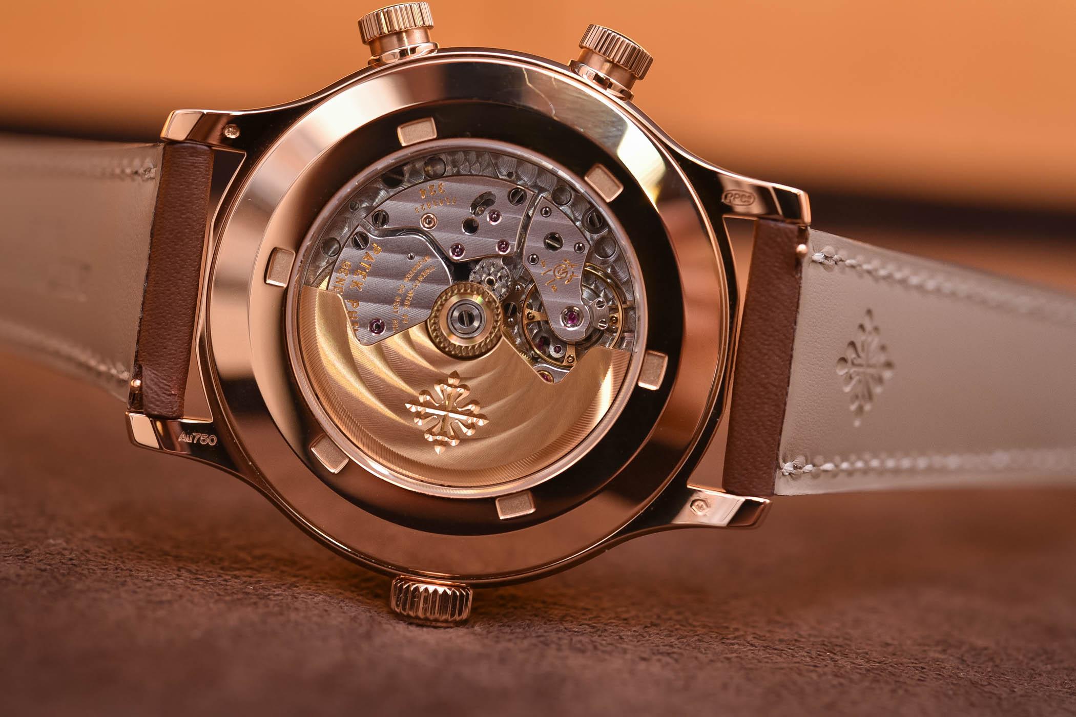 Patek Philippe Calatrava Pilot Travel Time 5524R Rose Gold
