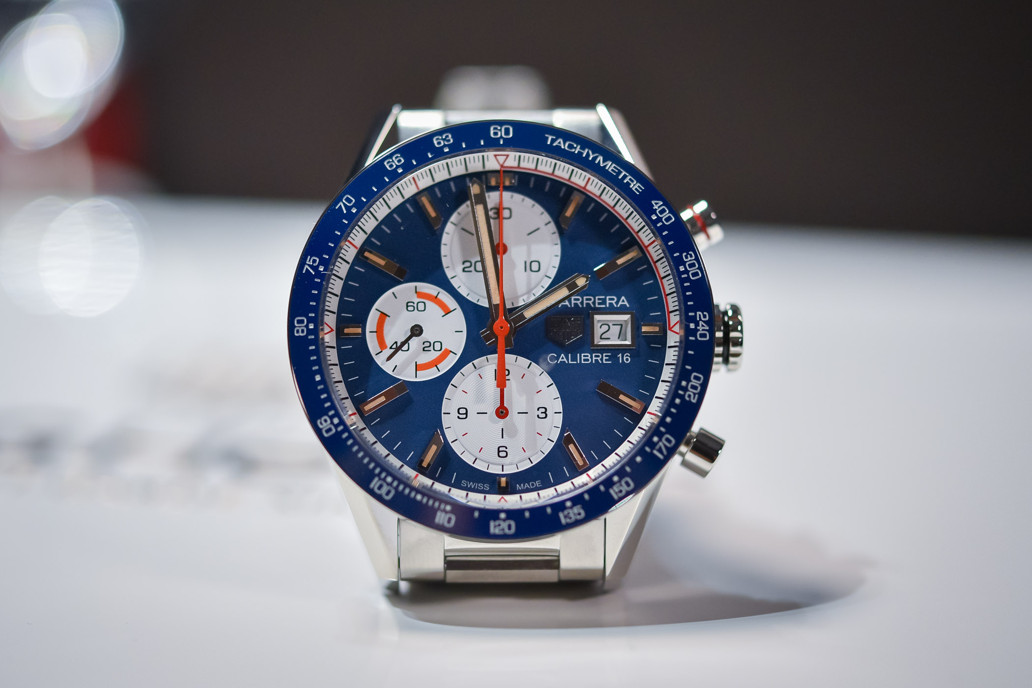 TAG Heuer Carrera Calibre 16 Chronograph Baselworld 2018