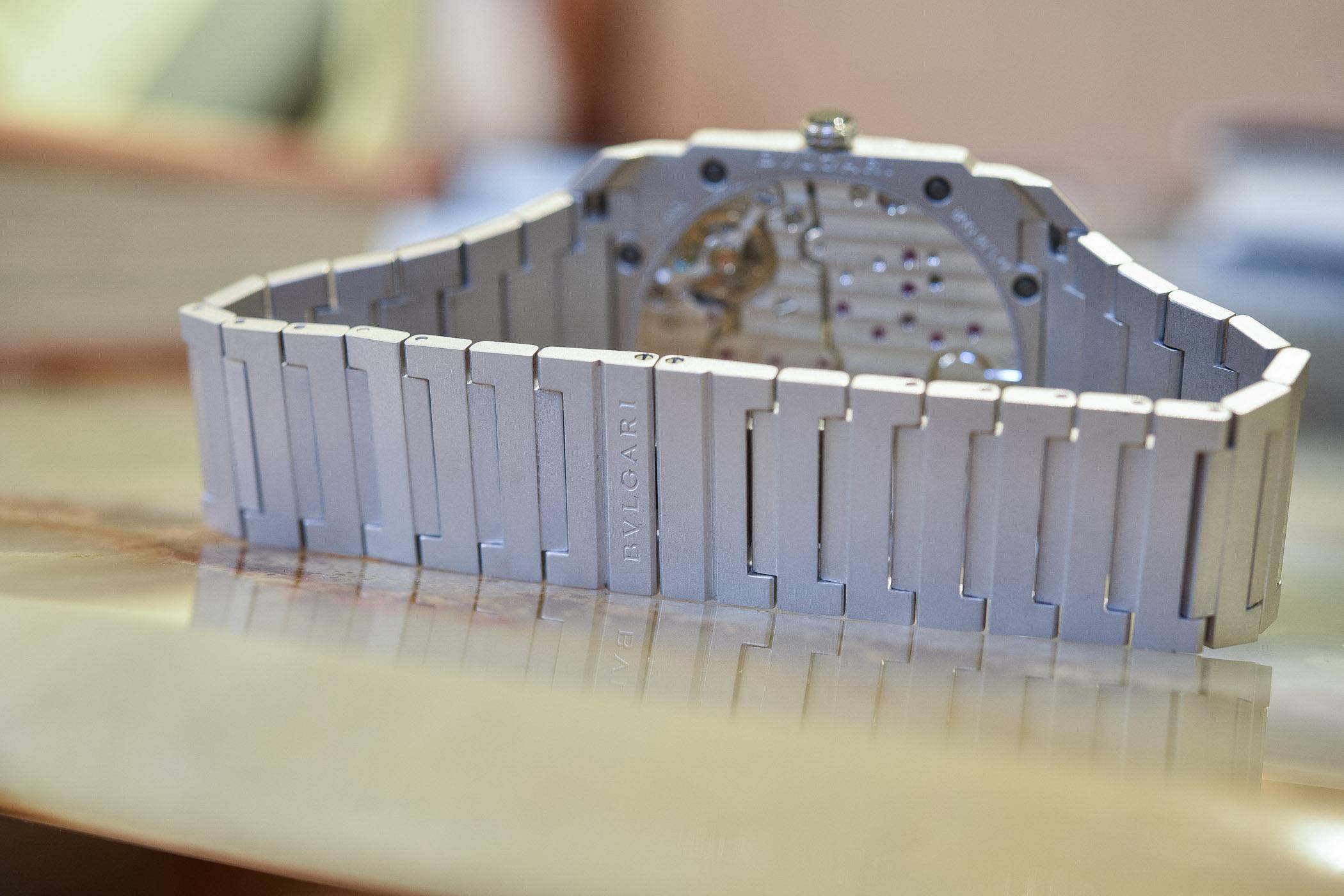 Bulgari Octo Finissimo Automatic Sandblasted Steel
