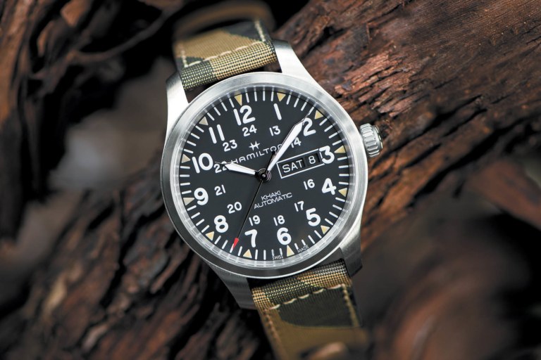 """Swiss Army Watch >> Introducing - Hamilton Khaki Field Day-Date 42mm """"Camouflage"""" Automatic (Price)"""