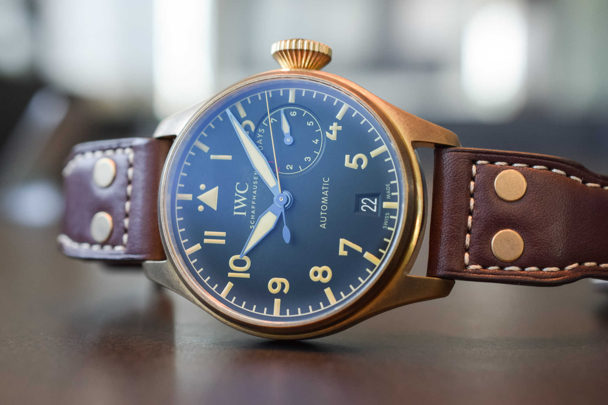 IWC Big Pilot's Watch Heritage Bronze IW501005