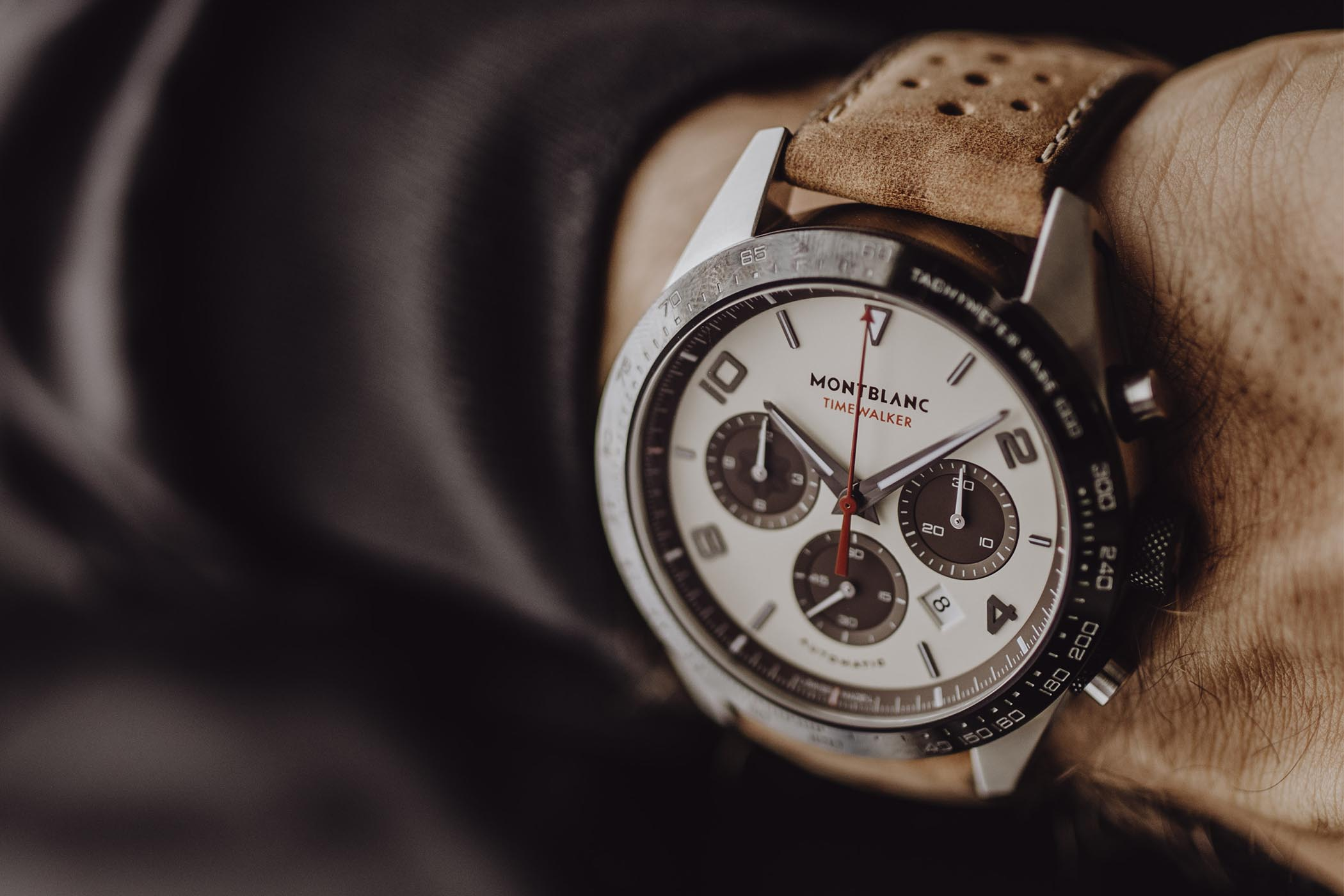 9fd92642320 Montblanc TimeWalker Manufacture Chronograph Limited Edition Cappucino  Goodwood