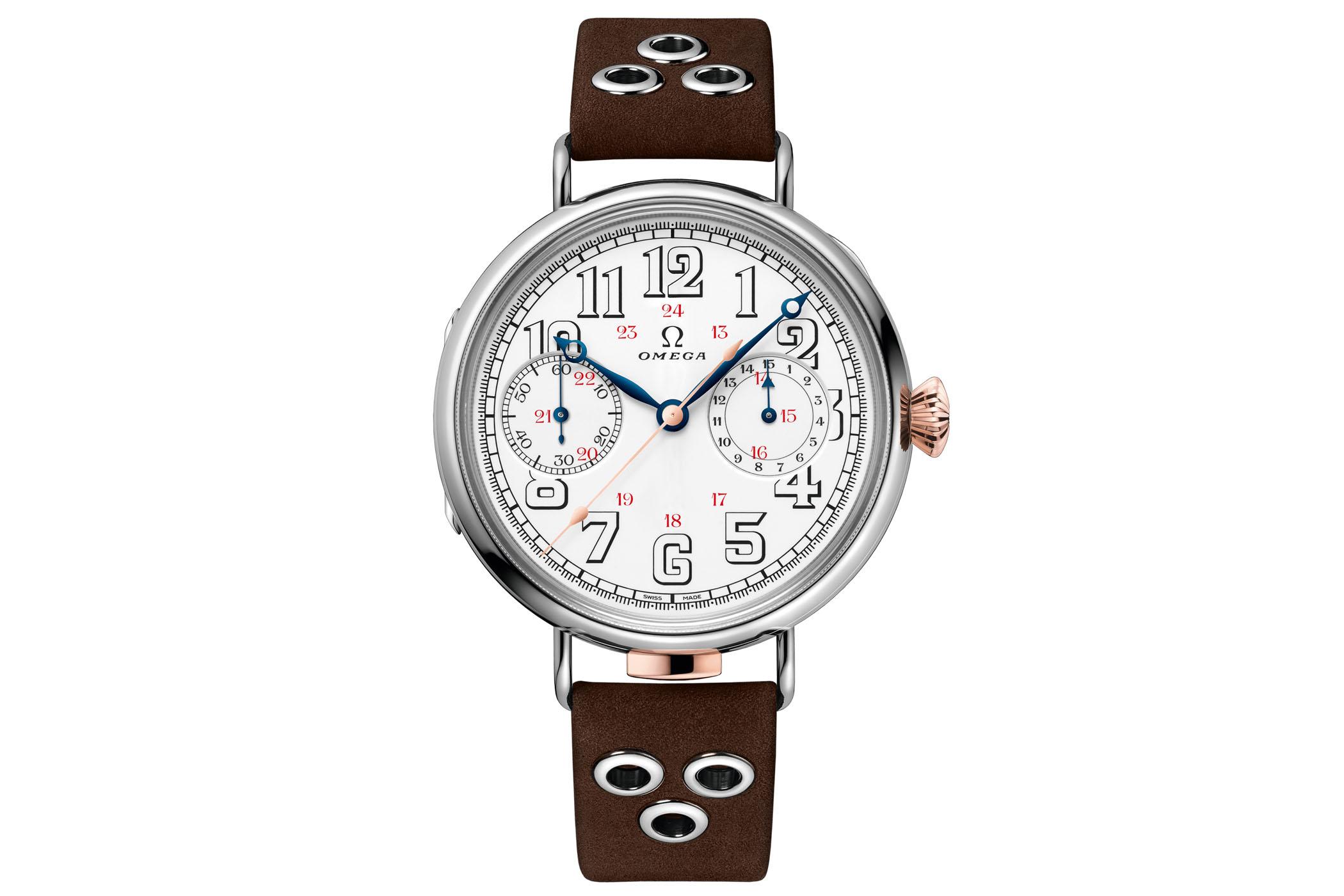 Omega First Wrist Chronograph reissue - 12