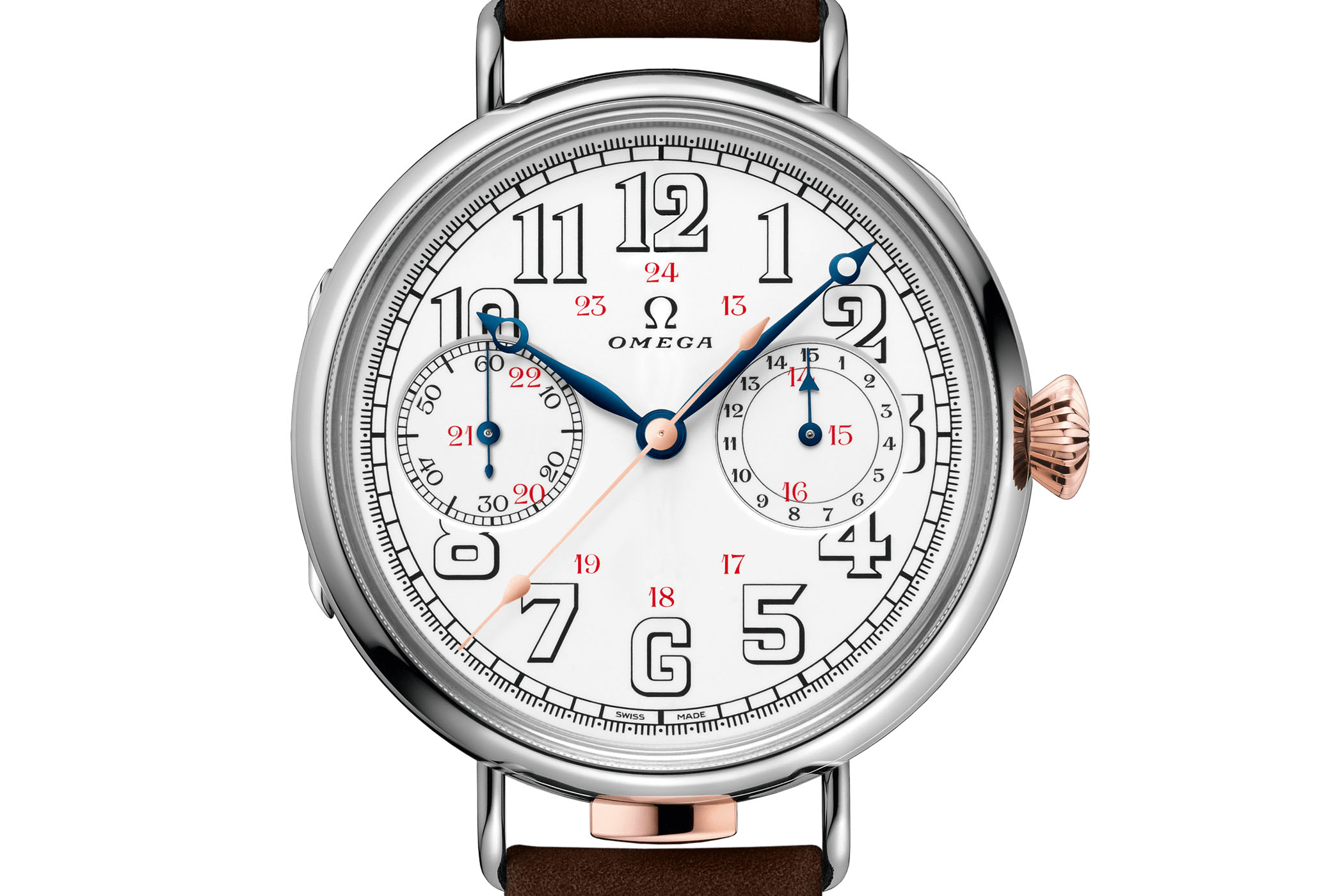 Omega First Wrist Chronograph reissue - 14