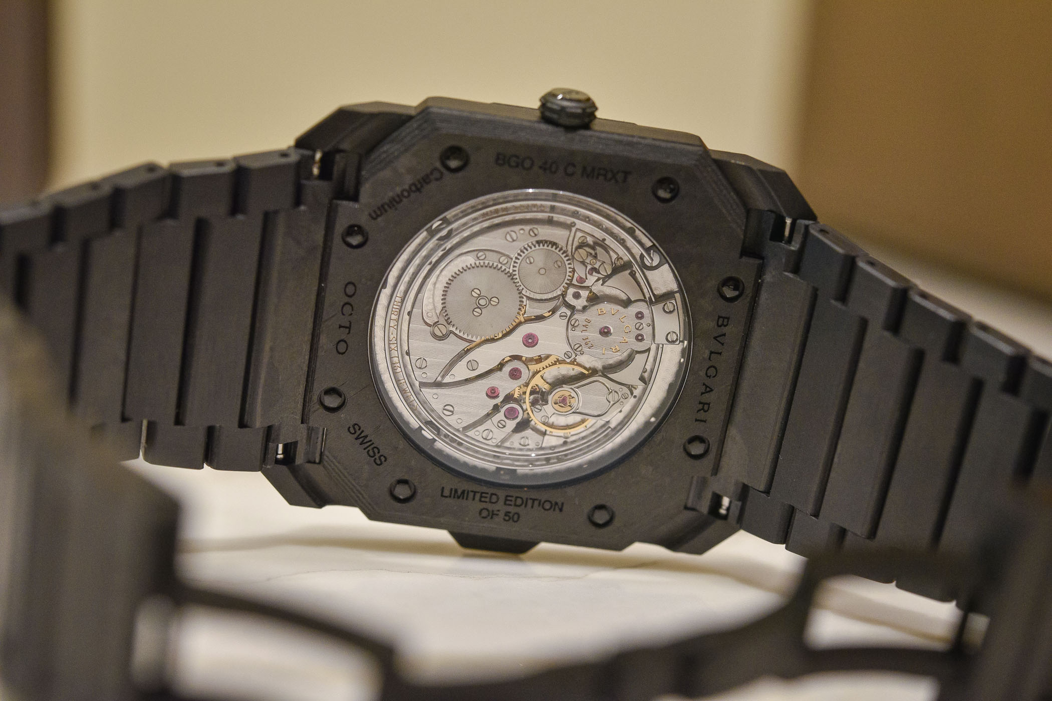 Bulgari Octo Finissimo Minute Repeater Carbon