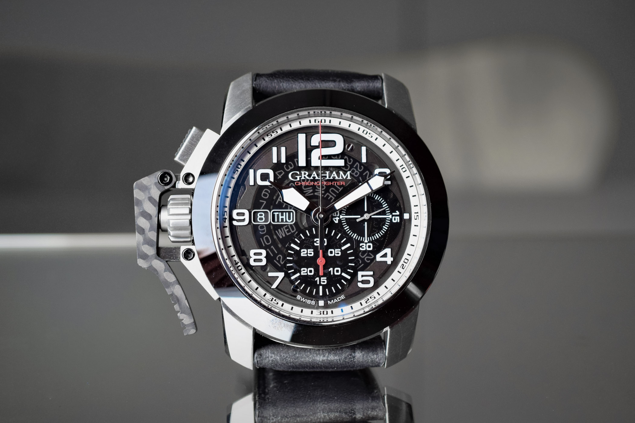 Graham Chronofighter Steel Target