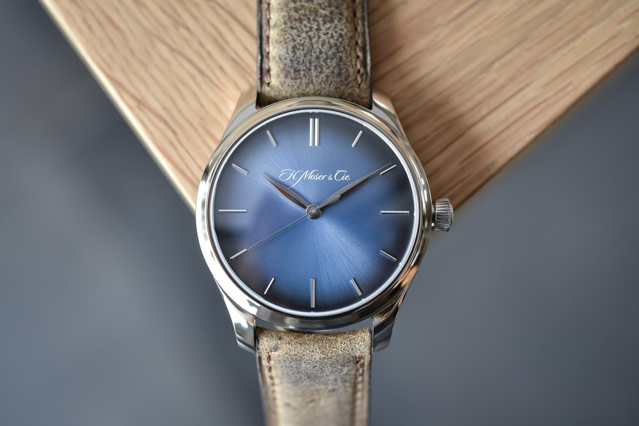 H. Moser _ Cie Endeavour Centre Seconds Automatic