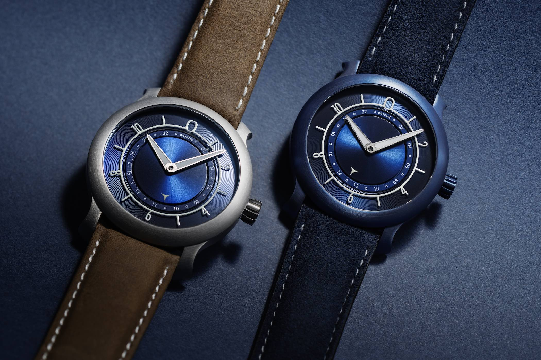 Ming 17.03 Ultra Blue - Ming 17.03 Blue - anniversary limited editions