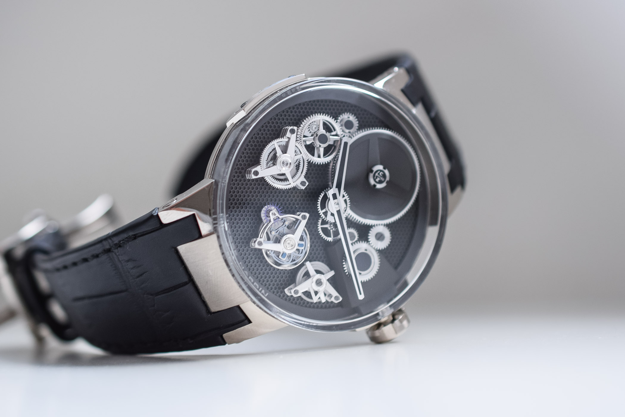 Ulysse Nardin Executive Tourbillon Skeleton Free Wheel