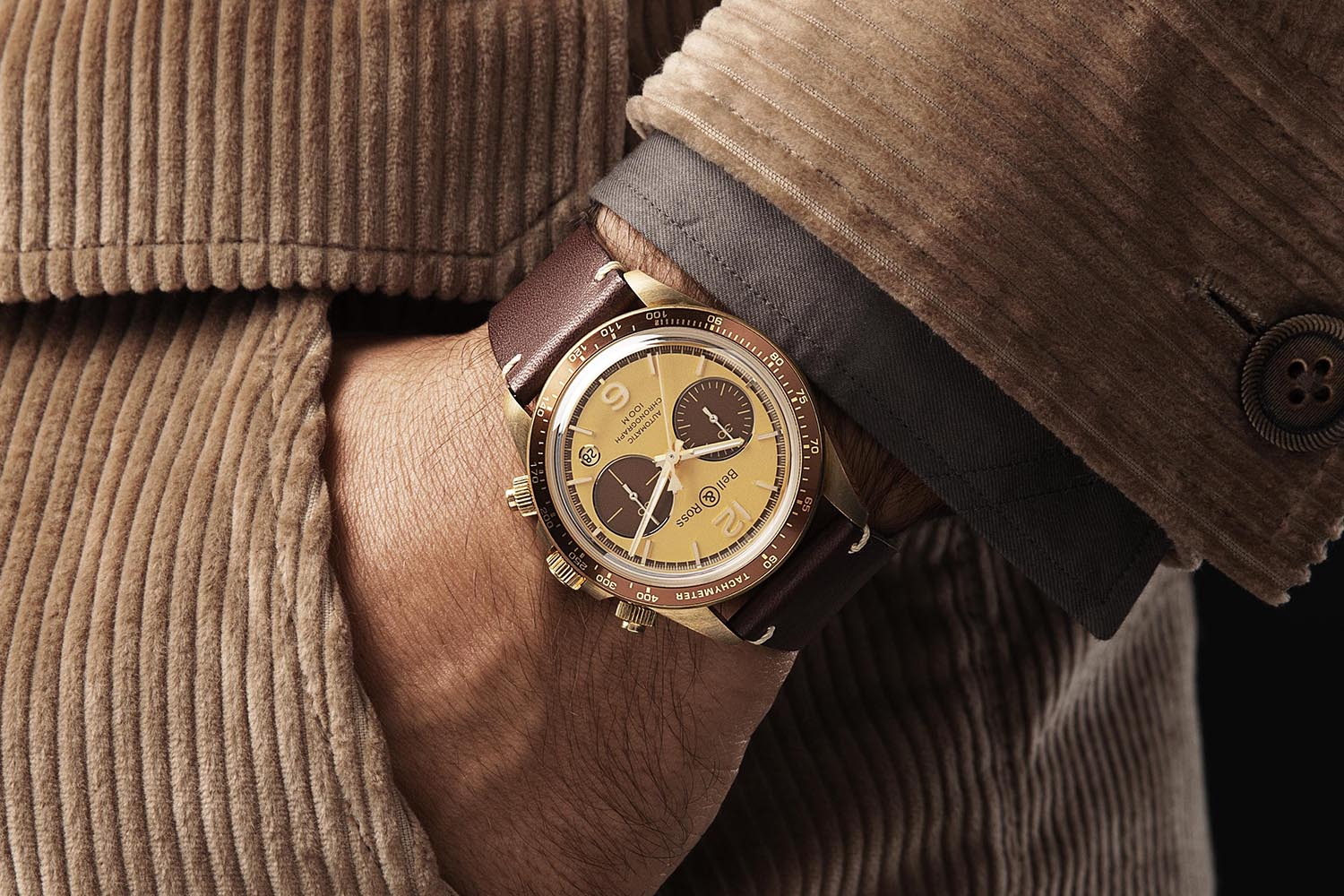 Bell & Ross X The Rake and Revolution Bellytanker El Mirage Chronograph bronze