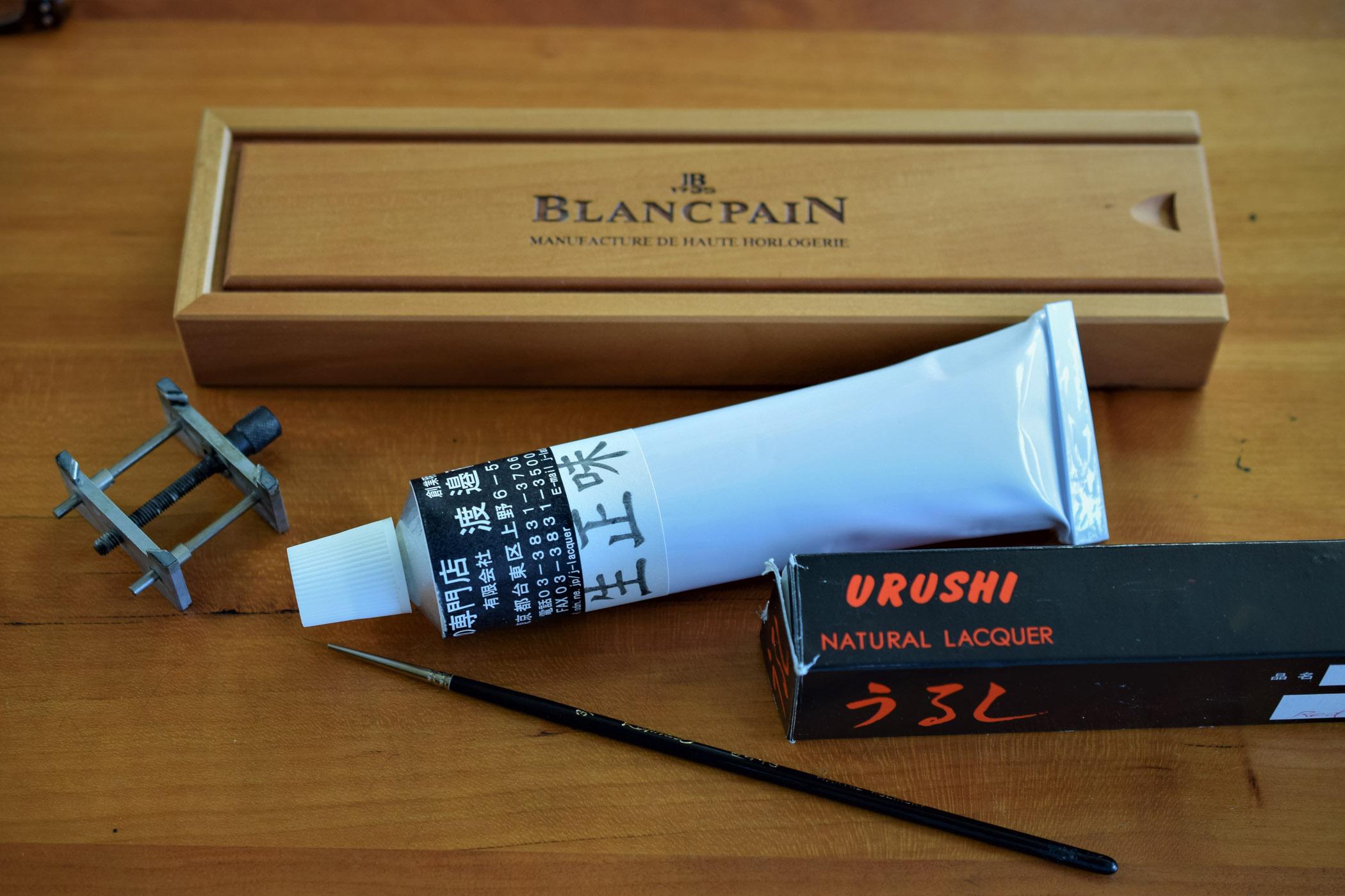 Blancpain Villeret Métiers d'Art Binchotan