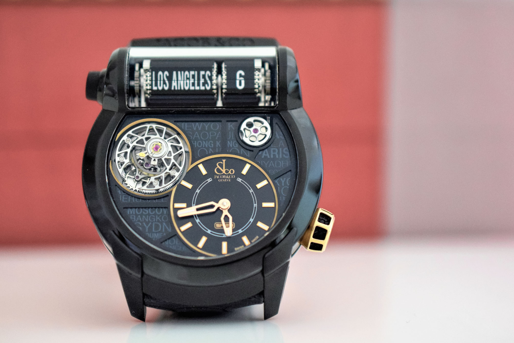 Jacob and Co Epic SF24 TOURBILLON