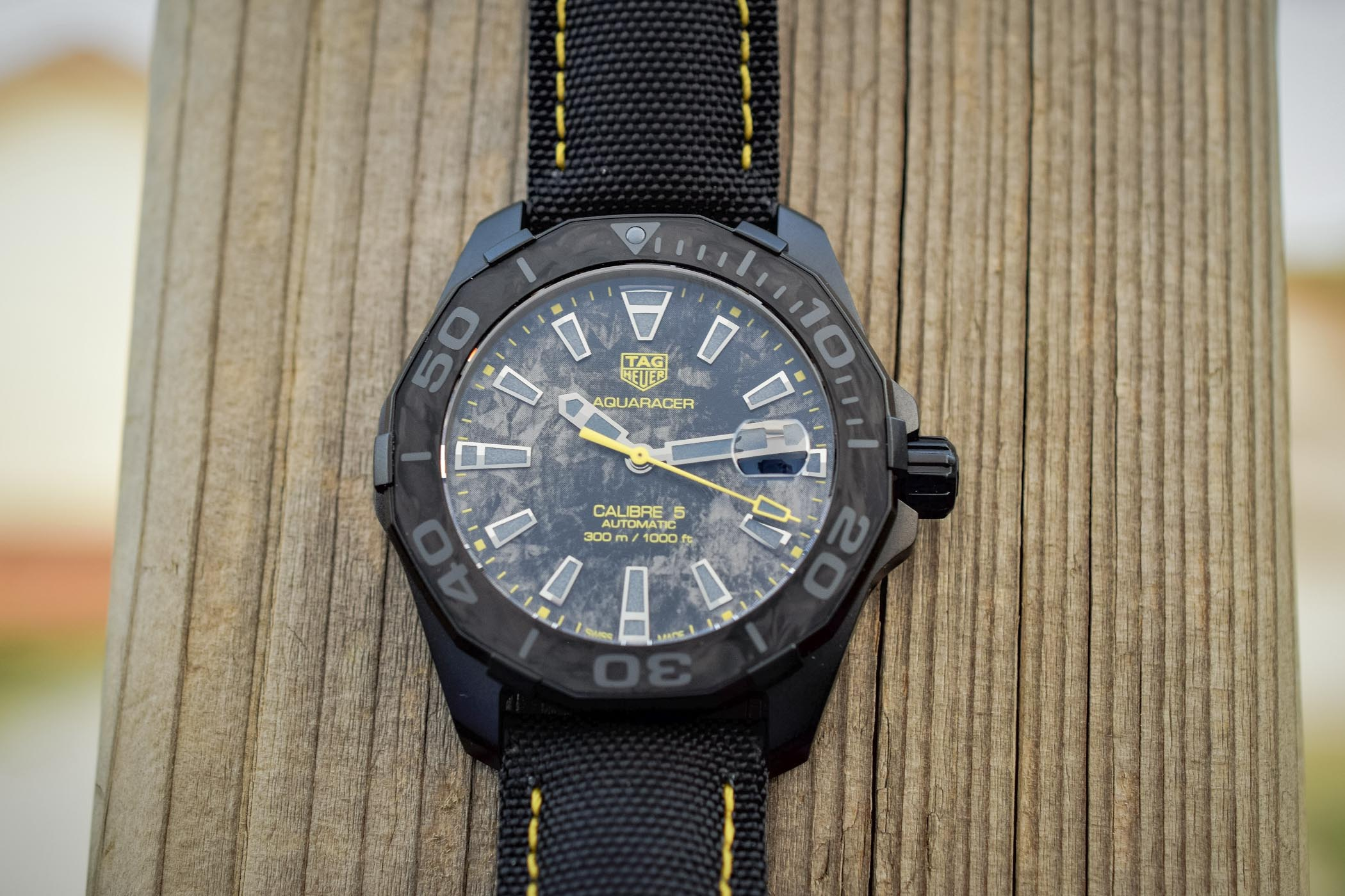 TAG Heuer Carbon Aquaracer Calibre 5 Special Series