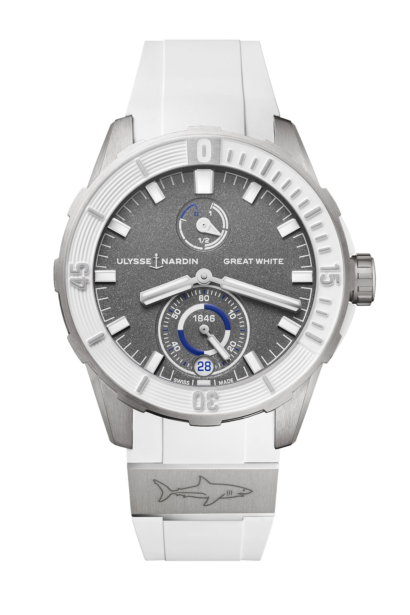 2018 Ulysse Nardin Diver Chronometer Great White Limited Edition