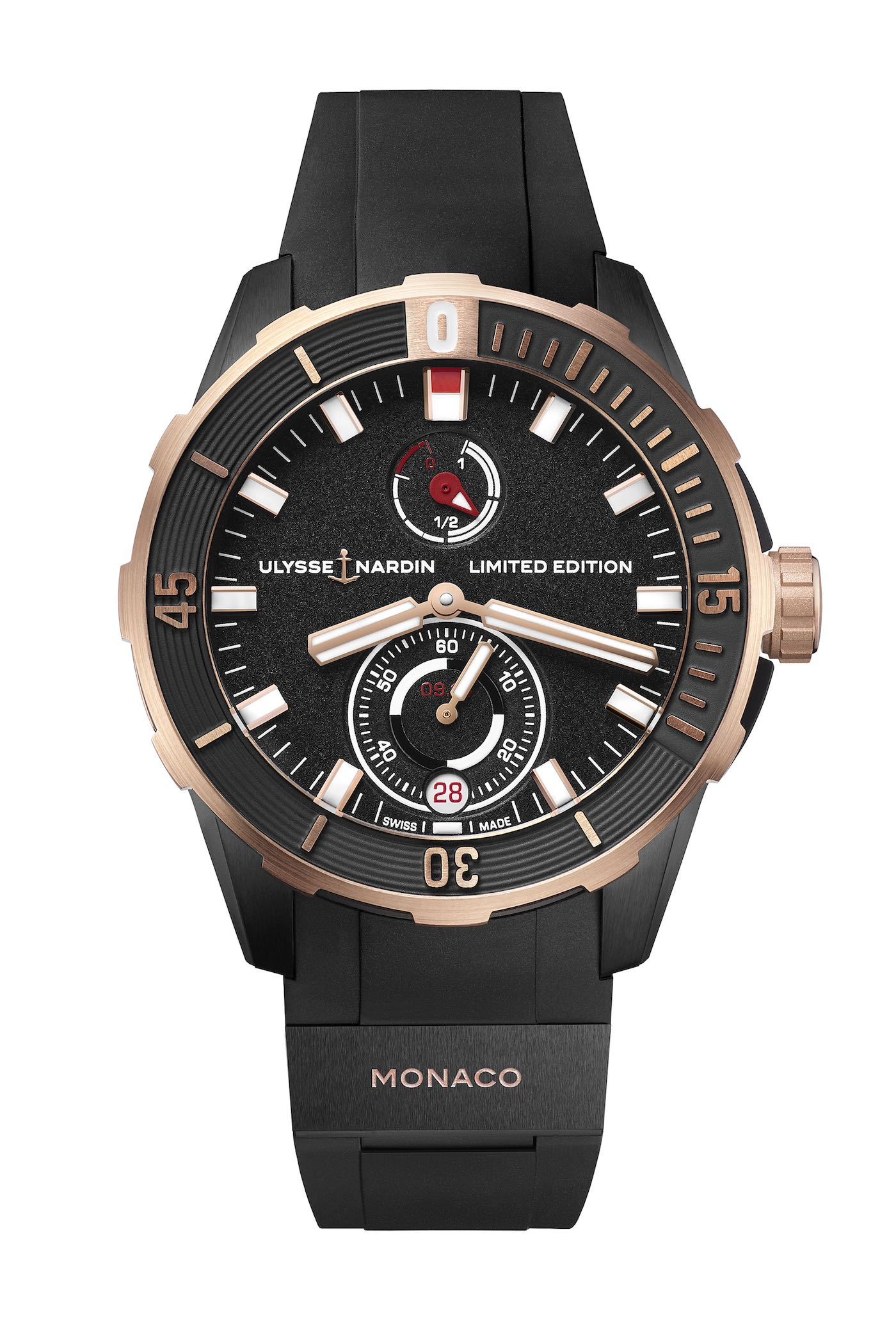 2018 Ulysse Nardin Diver Chronometer Monaco Limited Edition