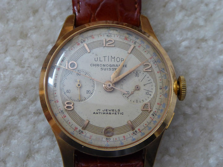 History of Chronographe Suisse Landeron Dreffa Ultimor Olympic - 10