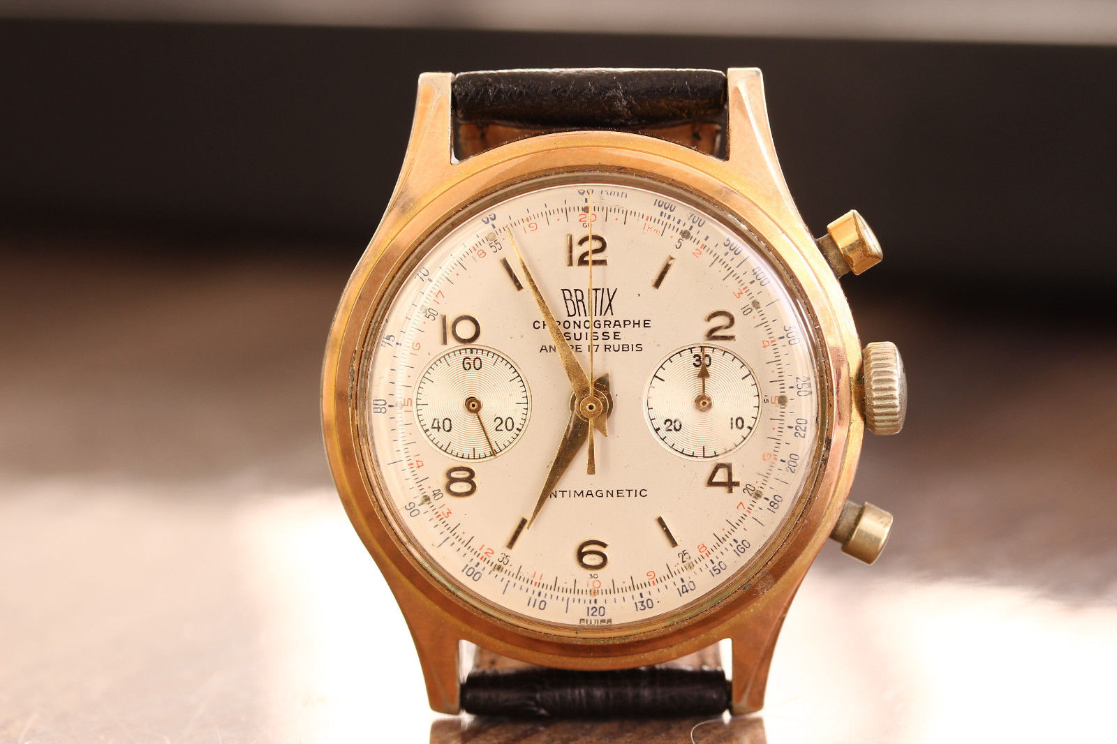 History of Chronographe Suisse Landeron Dreffa Ultimor Olympic - 11