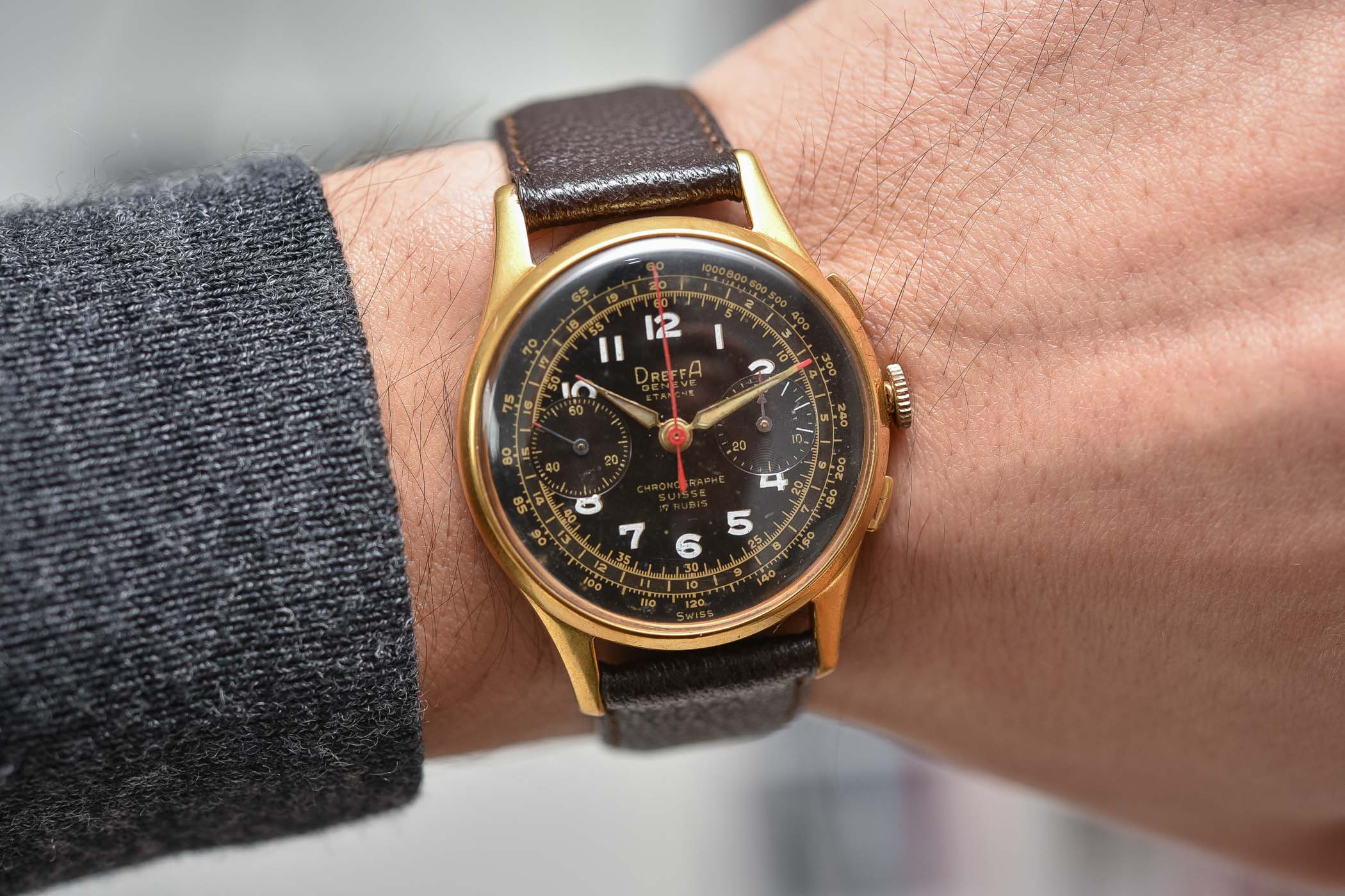 History of Chronographe Suisse Landeron Dreffa Ultimor Olympic - 2