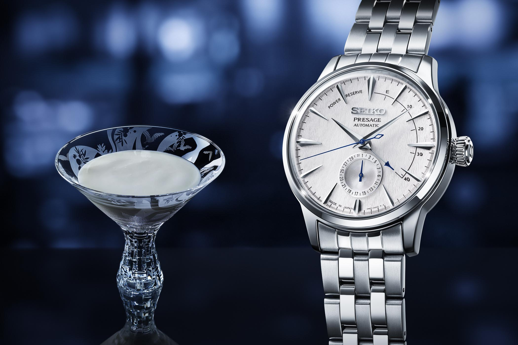 Seiko Presage Cocktail Fuyugeshiki limited editions