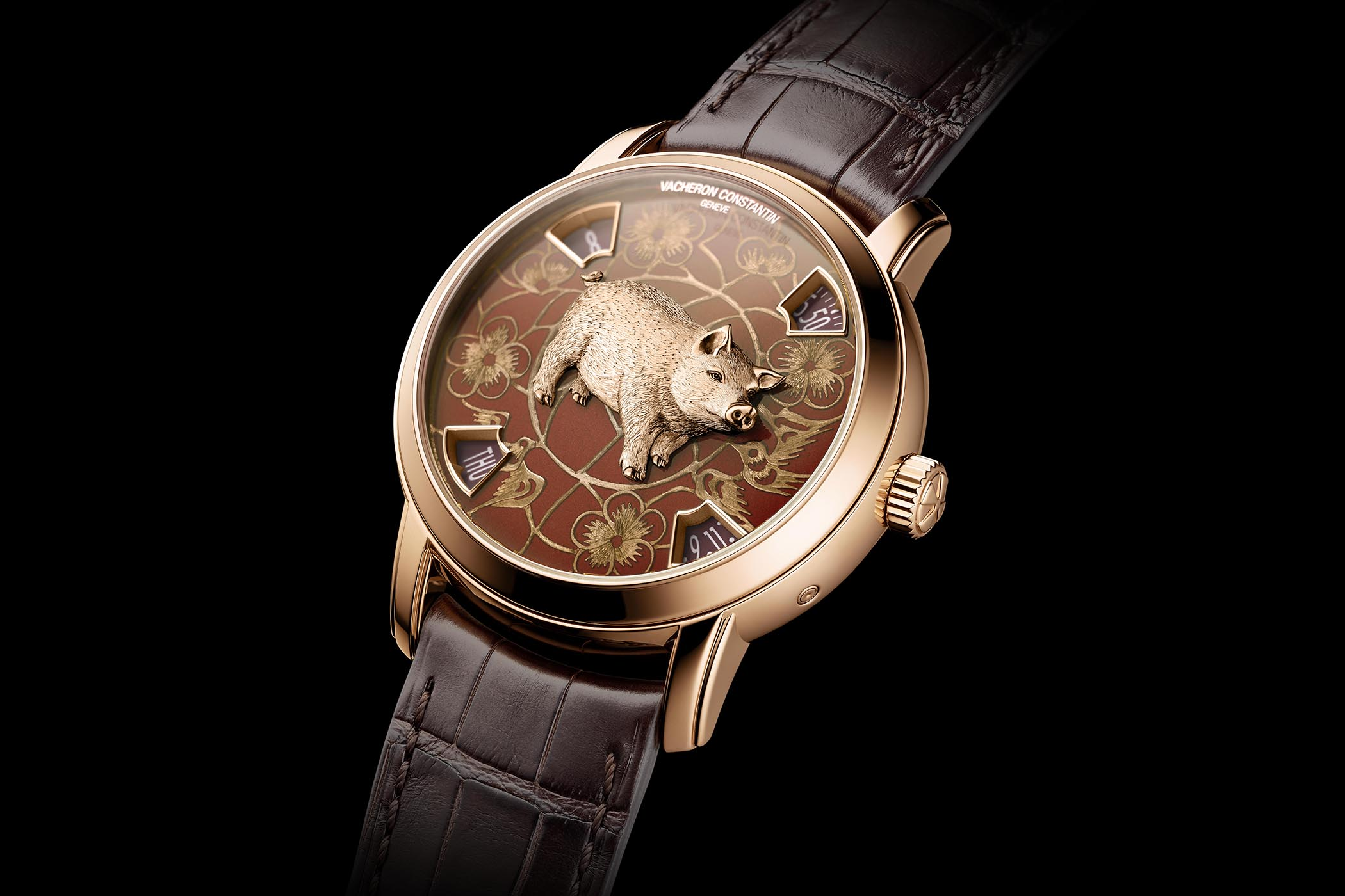 Vacheron Constantin Metiers Dart The Legend Of The Chinese Zodiac Year Of The Pig - 1