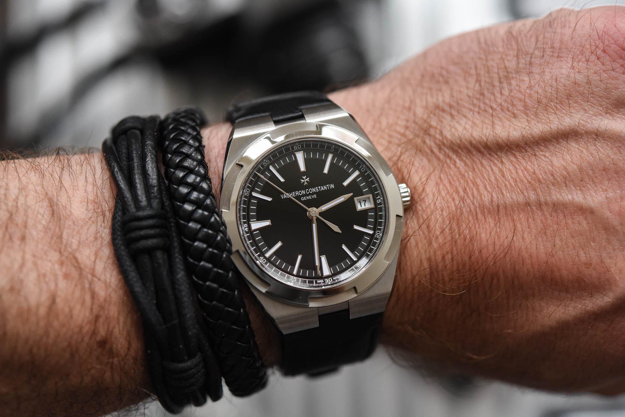 Vacheron Constantin Overseas 4500v Black Dial The