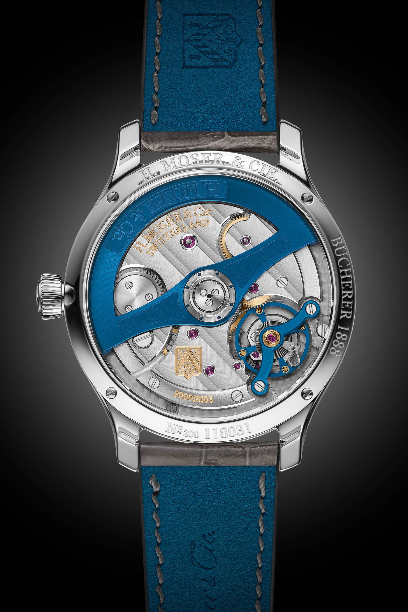 H Moser and Cie Endeavour Diamonds Bucherer Blue Editions - 2