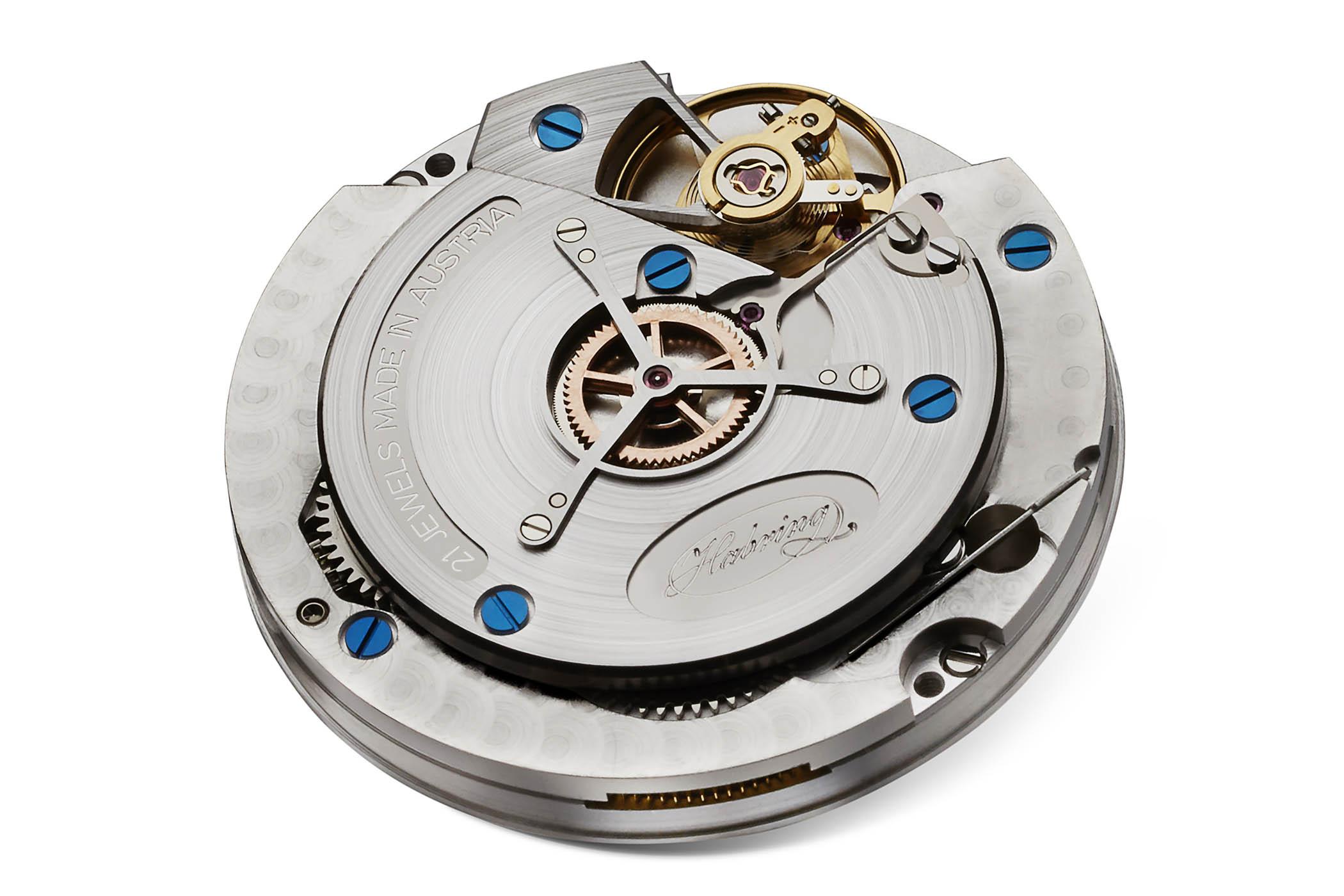 Habring2 Erwin LAB01 Massena Bronze sector dial deadbeat second - 1