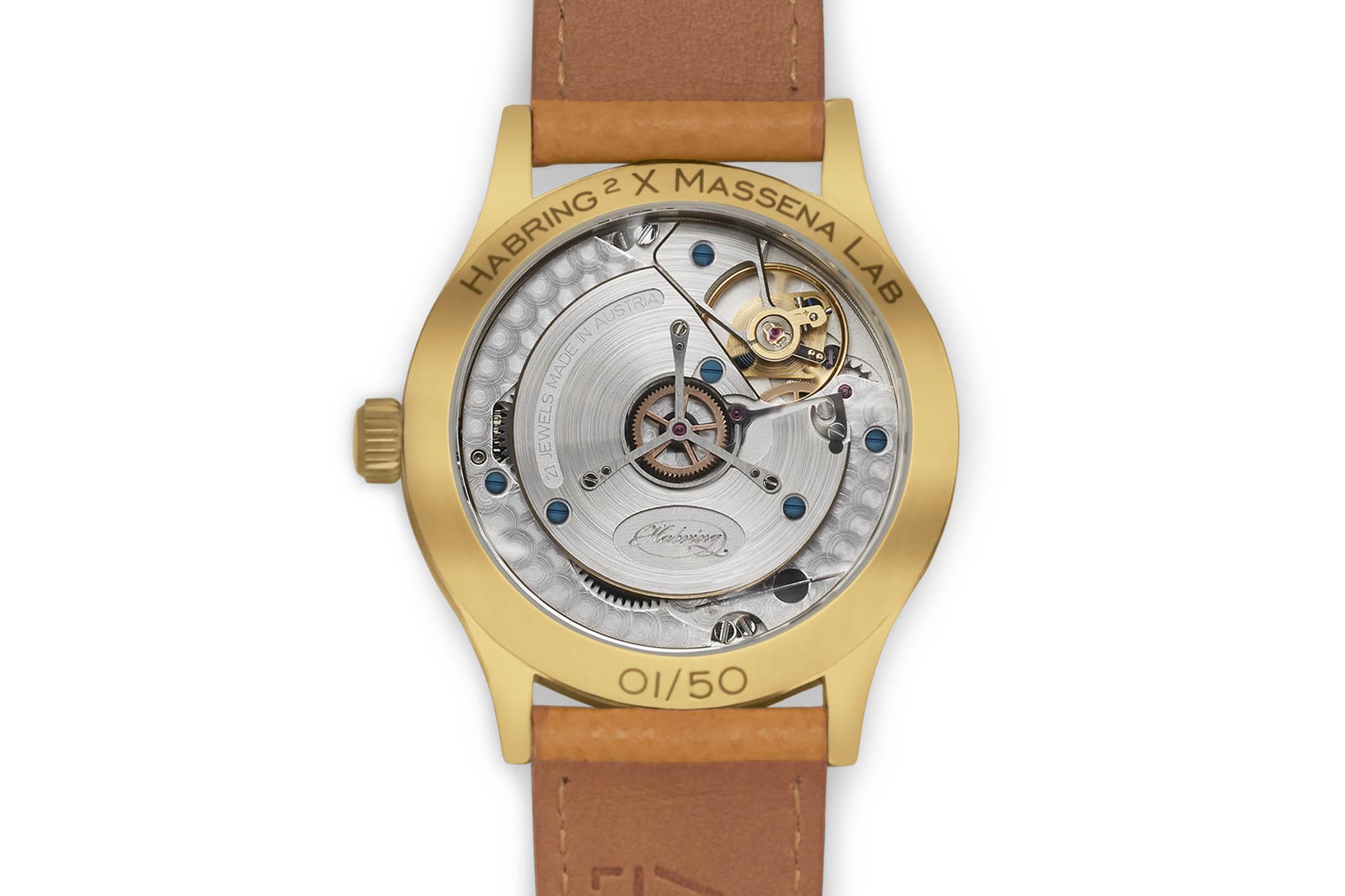 Habring2 Erwin LAB01 Massena Bronze sector dial deadbeat second - 2