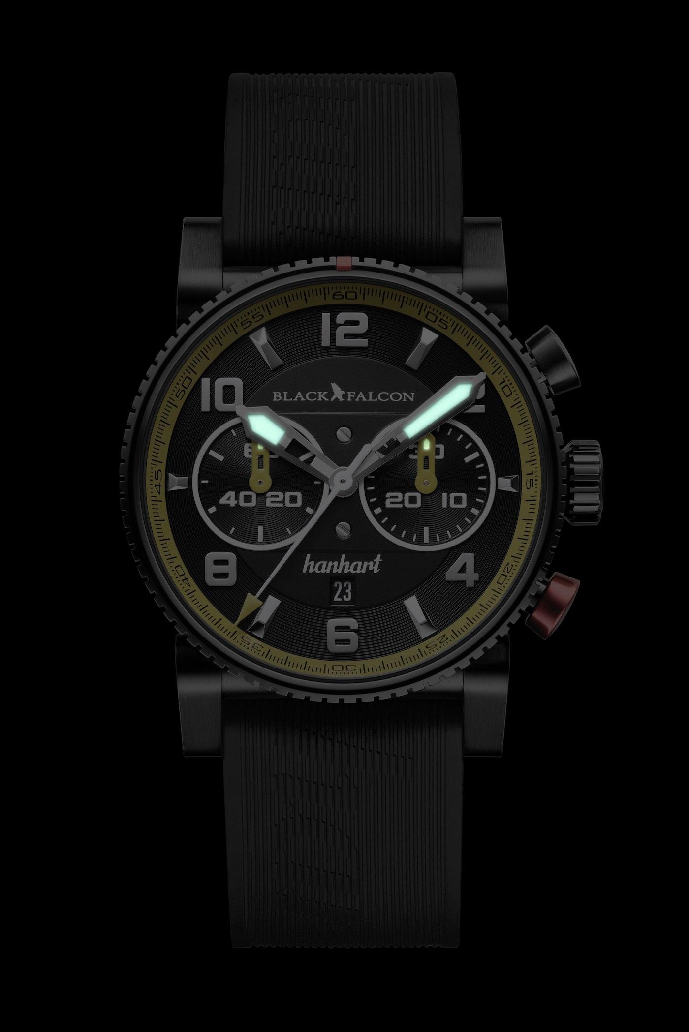 Hanhart Primus Black Falcon Limited Edition - 3