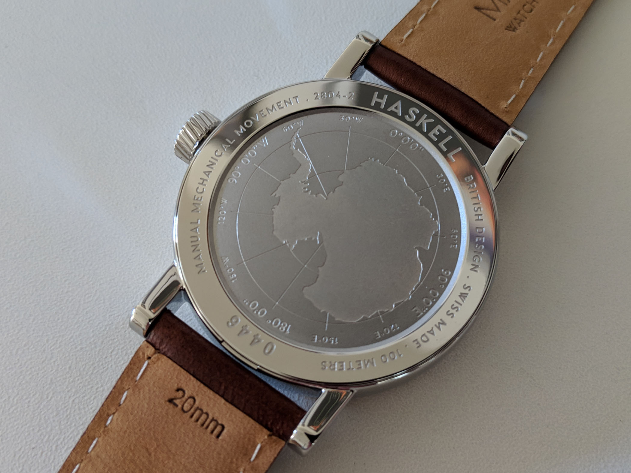 Marloe Watch Company Haskell hand-wound ETA - review - 10