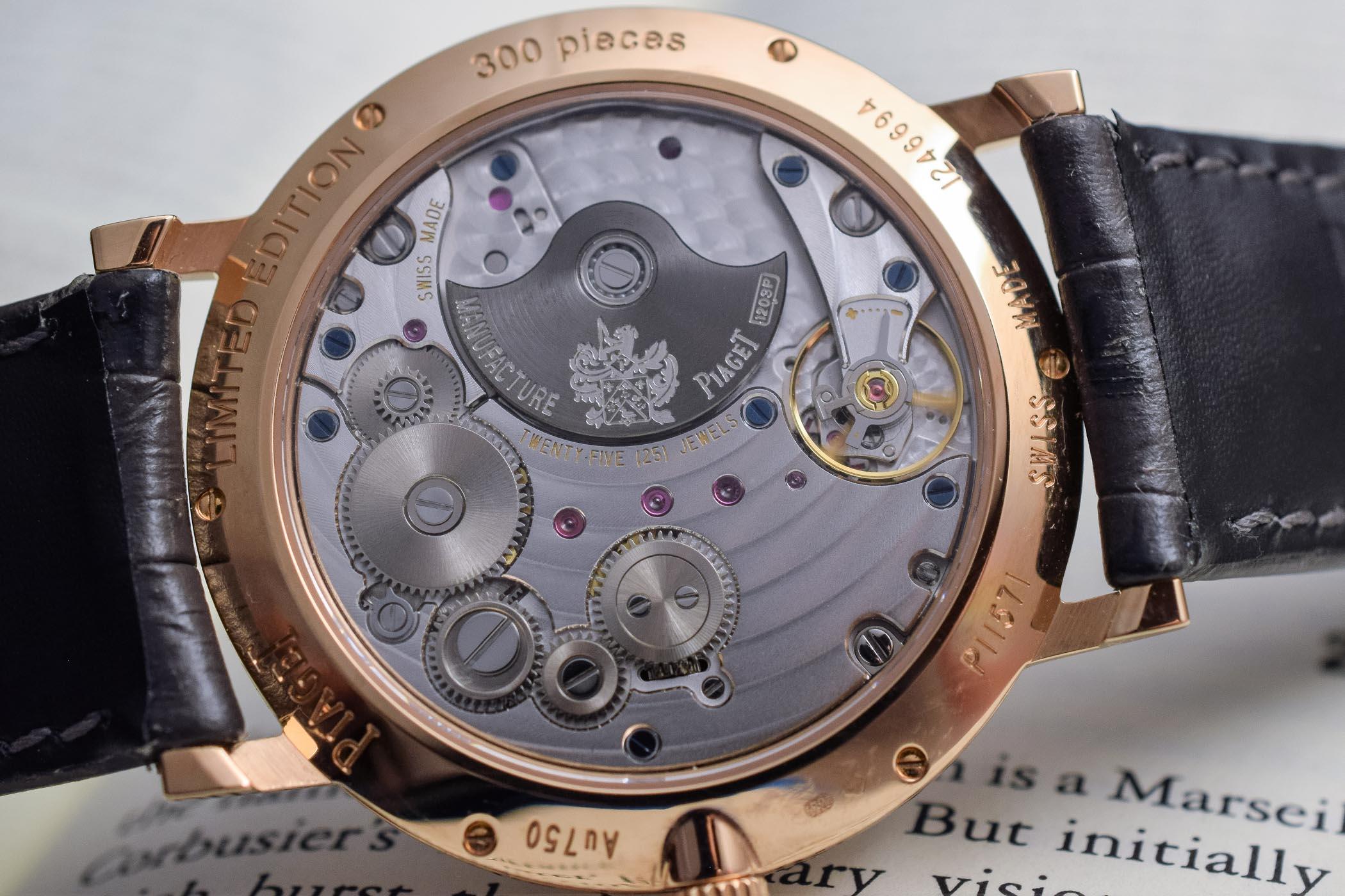 Piaget Altiplano 40mm pink gold Grey meteorite dial - SIHH 2019 - 4
