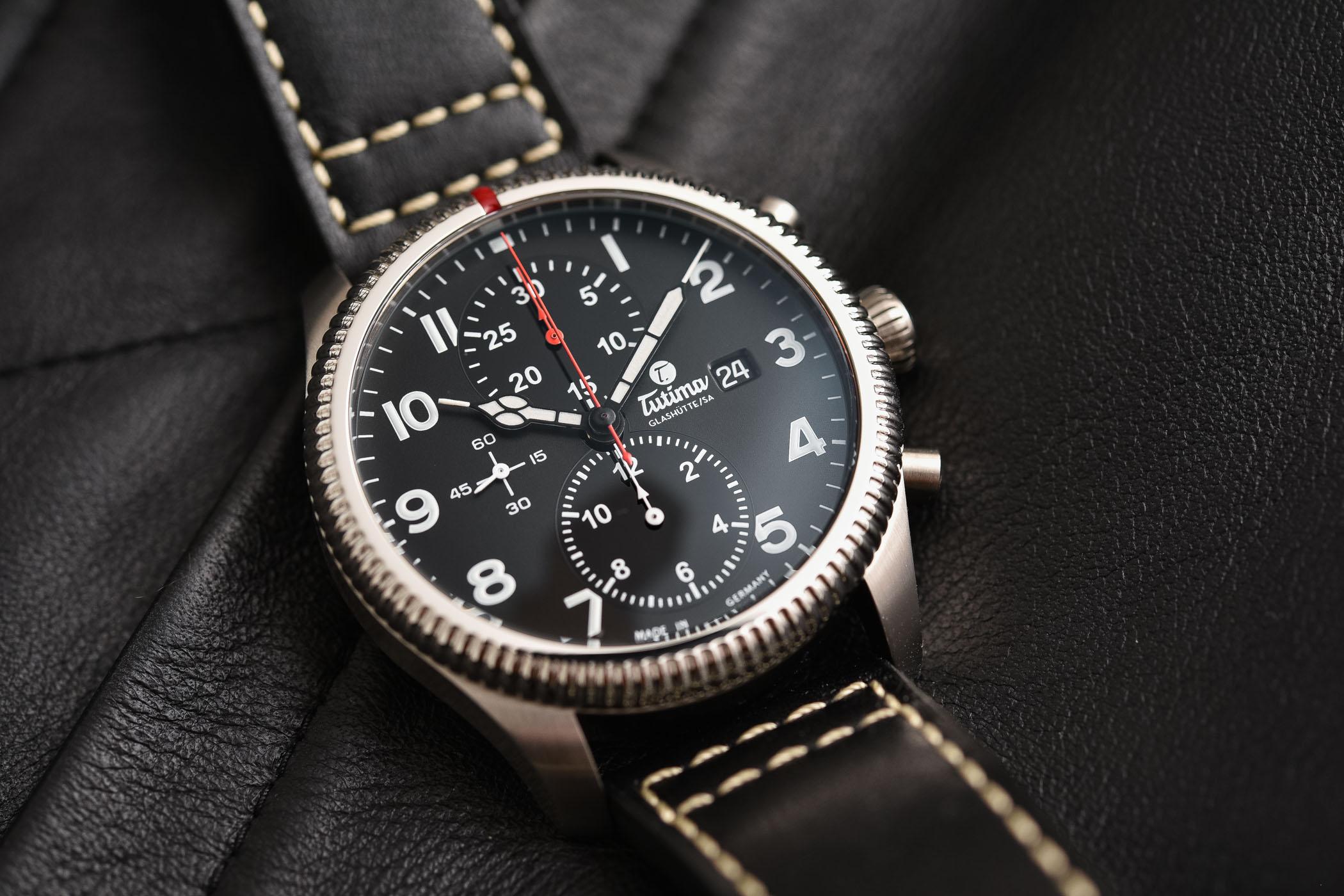 Tutima Grand Flieger Classic Chronograph