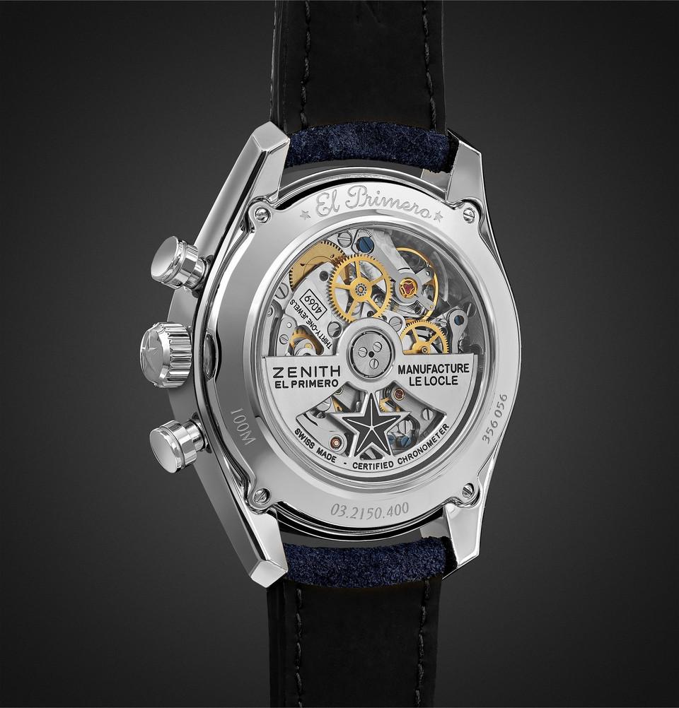 Zenith x Bamford Chronomaster El Primero Solar Blue Limited Edition for MR. PORTER- 3