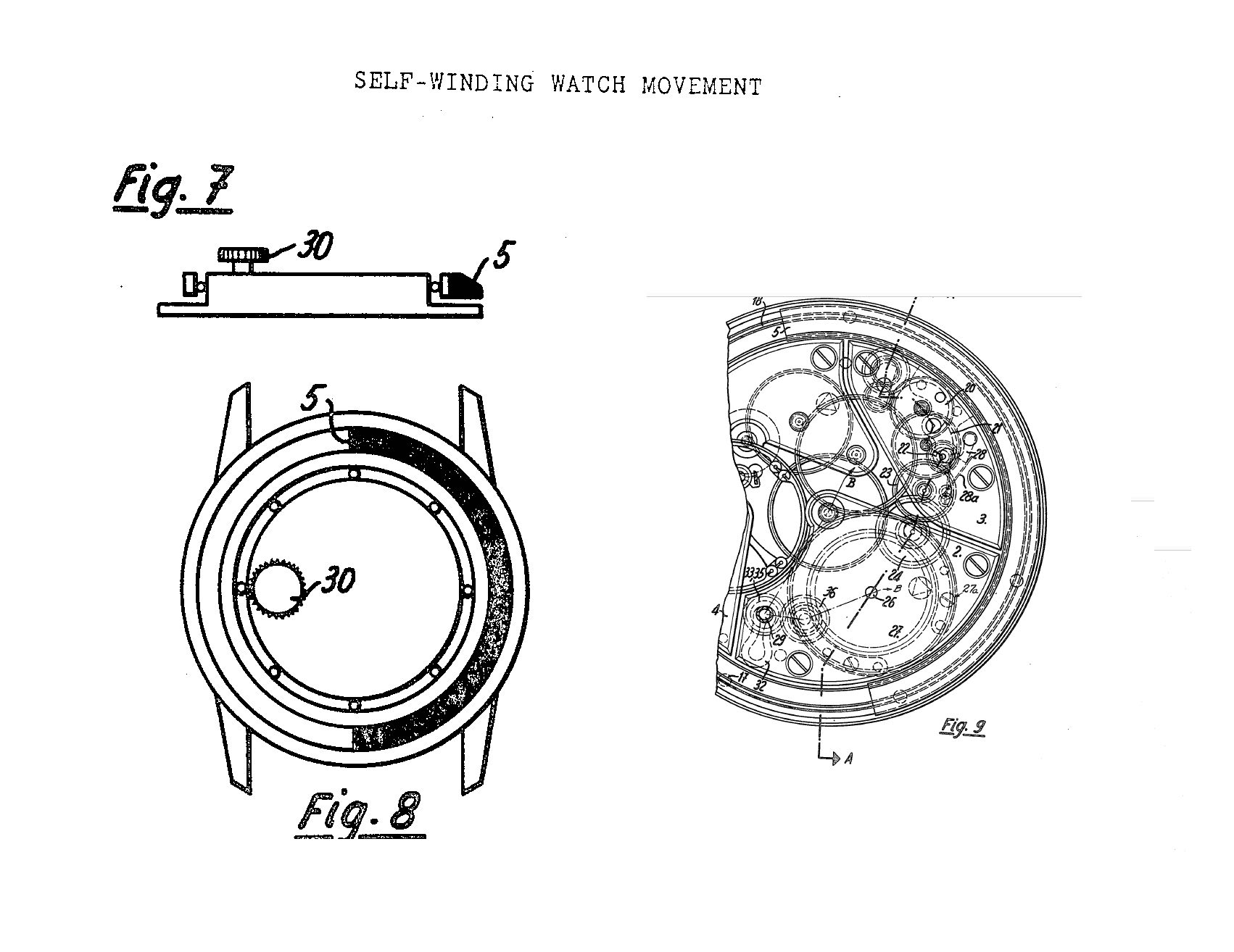 peripheral rotor patent patek philippe