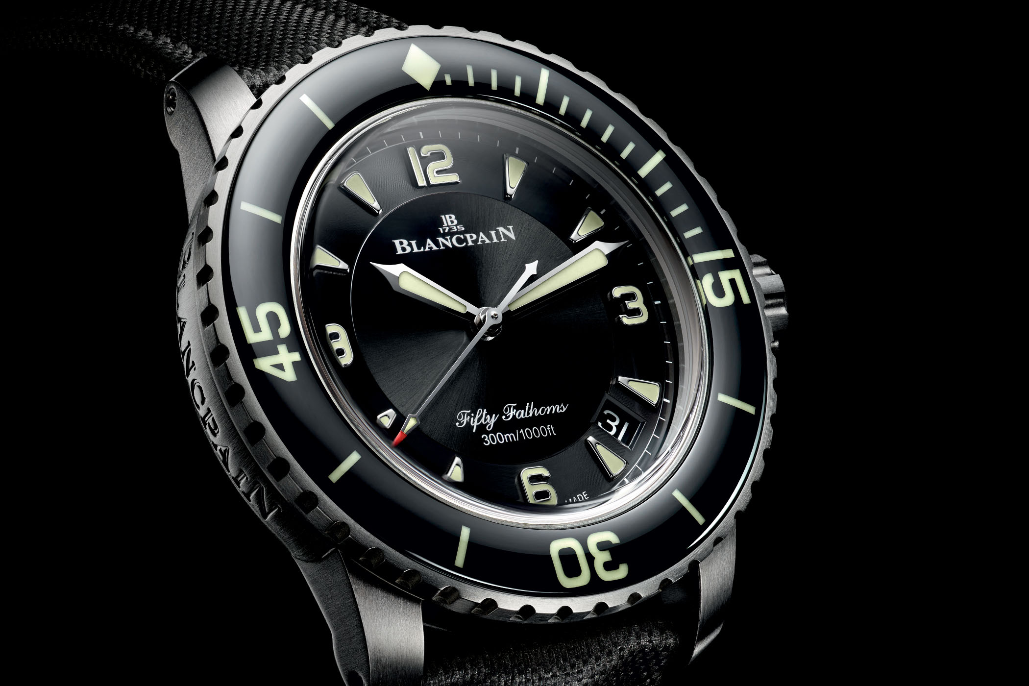 Blancpain's new Fifty Fathoms Automatique in Titanium Blancpain-Fifty-Fathoms-Automatique-5015-Titanium-5