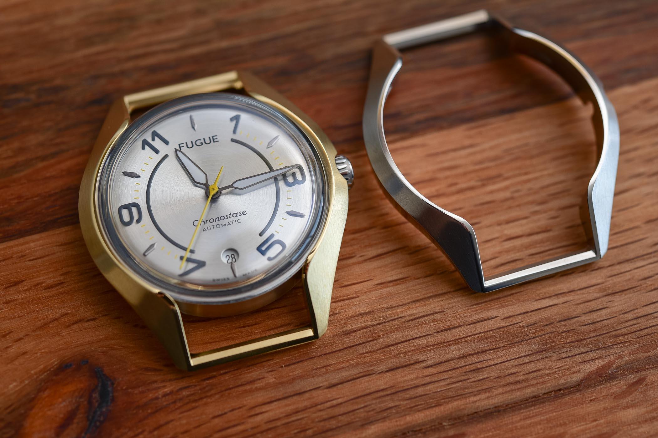 Fugue Watch Chronostase modular watch interchangeable case and strap - 10
