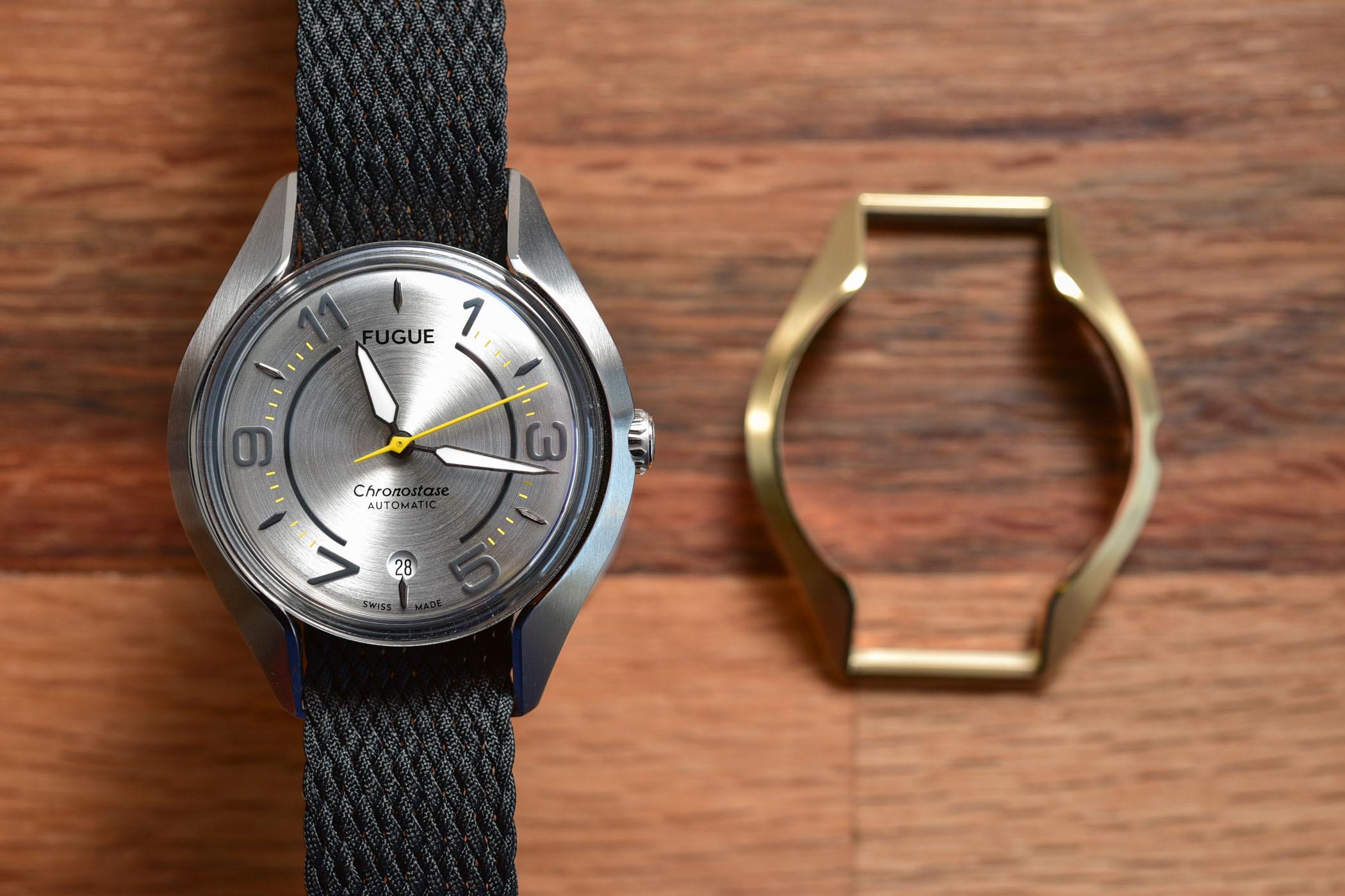 Fugue Watch Chronostase modular watch interchangeable case and strap - 7
