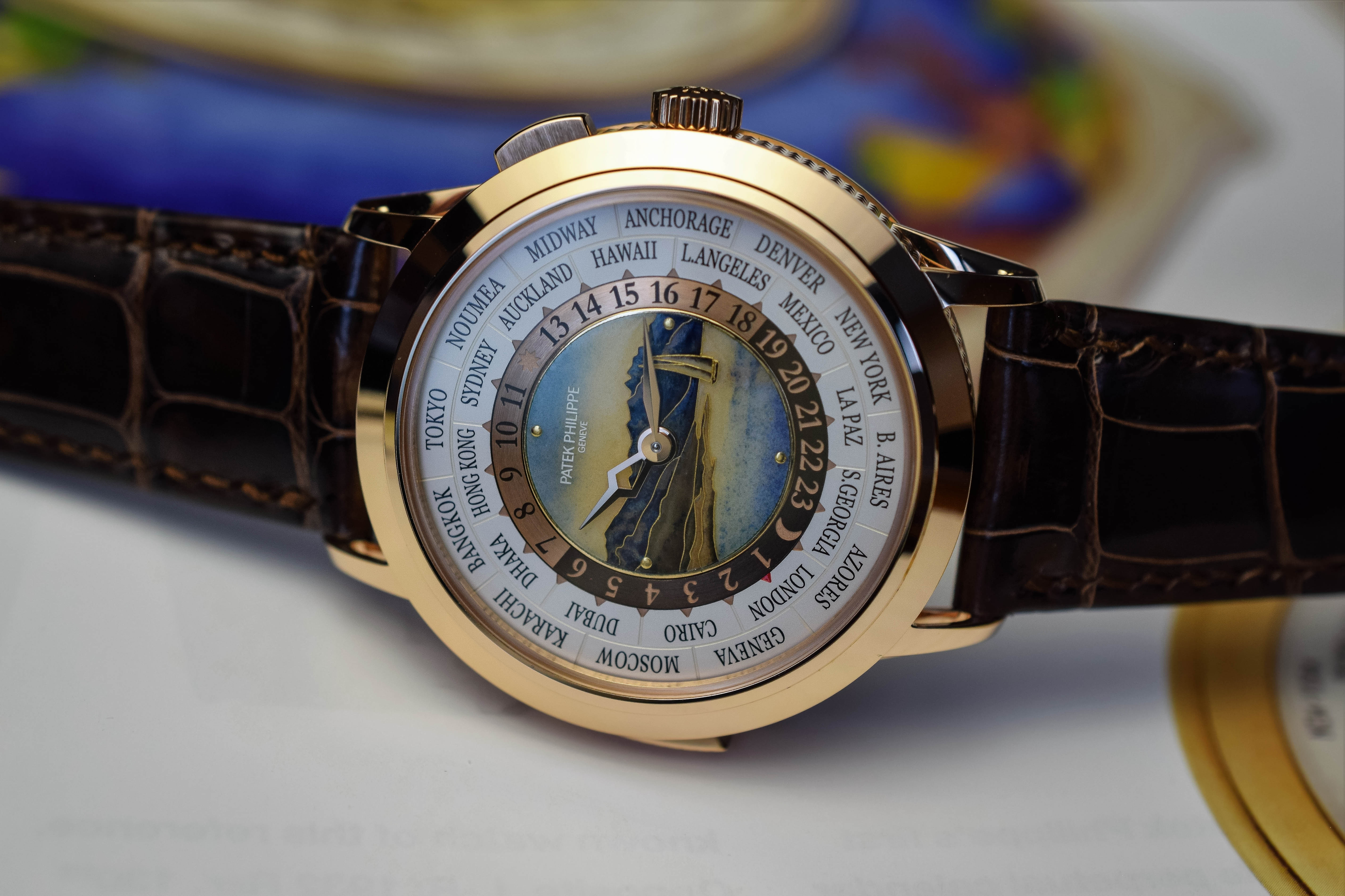 Patek Philippe World-Time Minute Repeater 5531R - 1