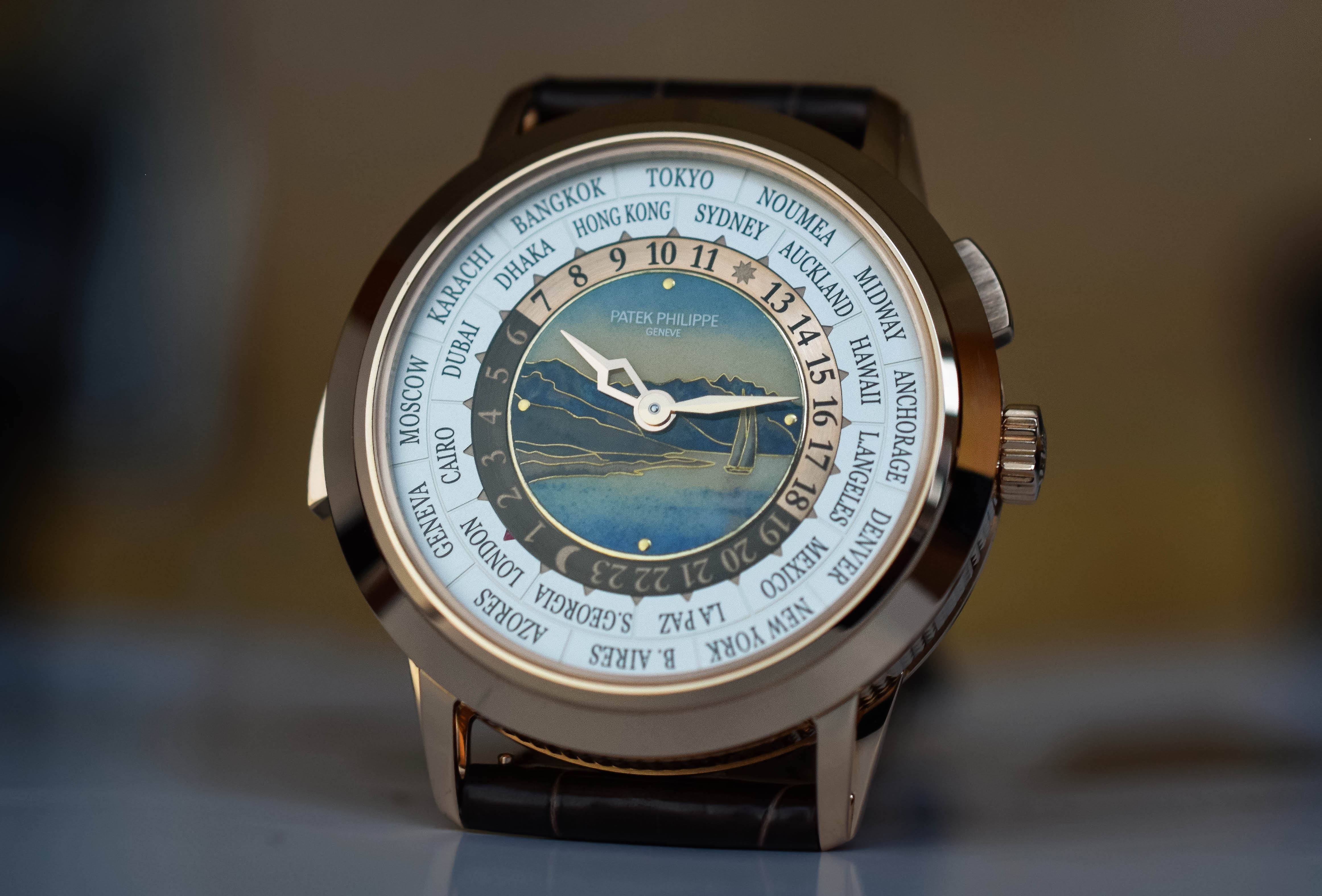 Patek Philippe World-Time Minute Repeater 5531R - 5