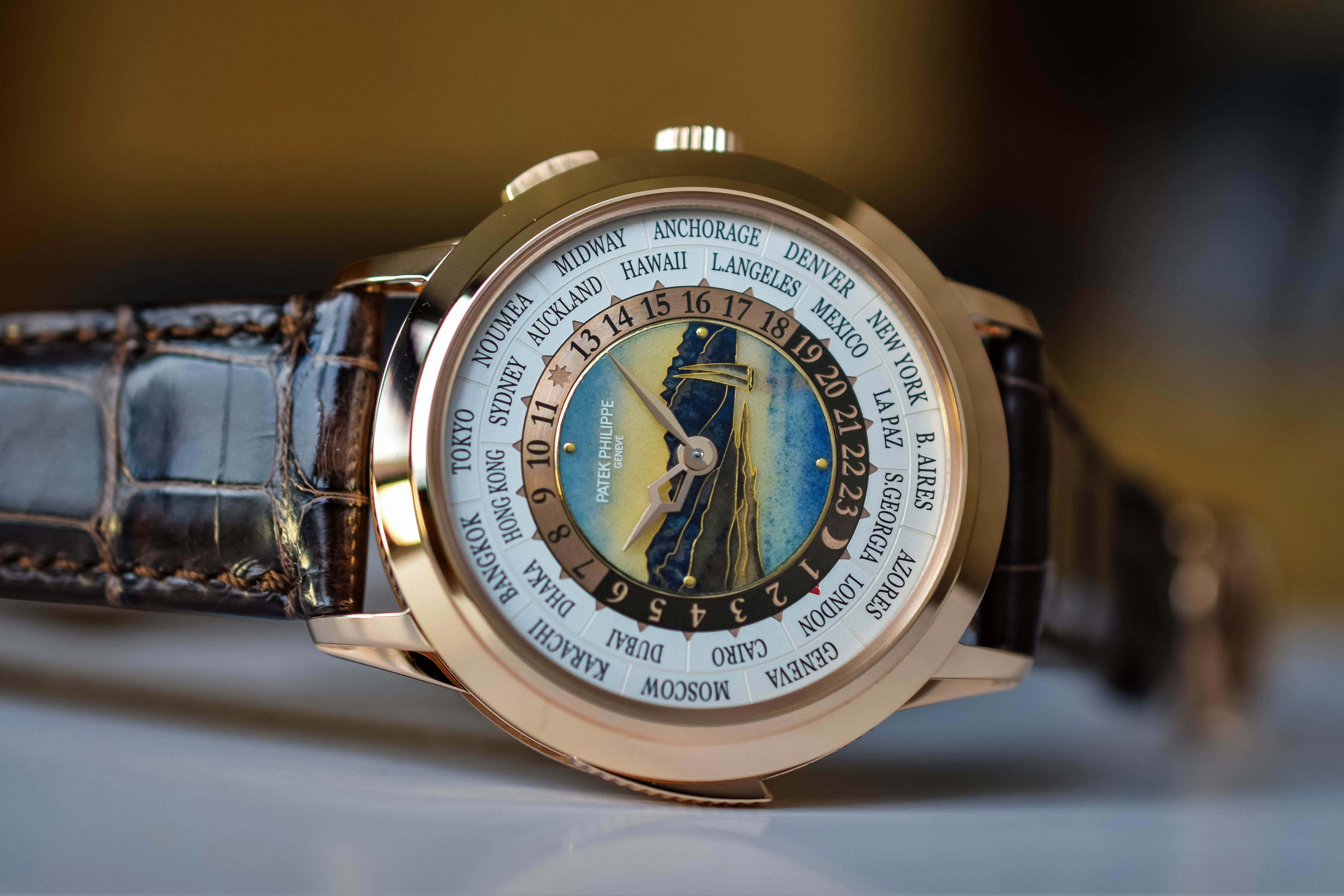 Patek Philippe World-Time Minute Repeater 5531R - 7