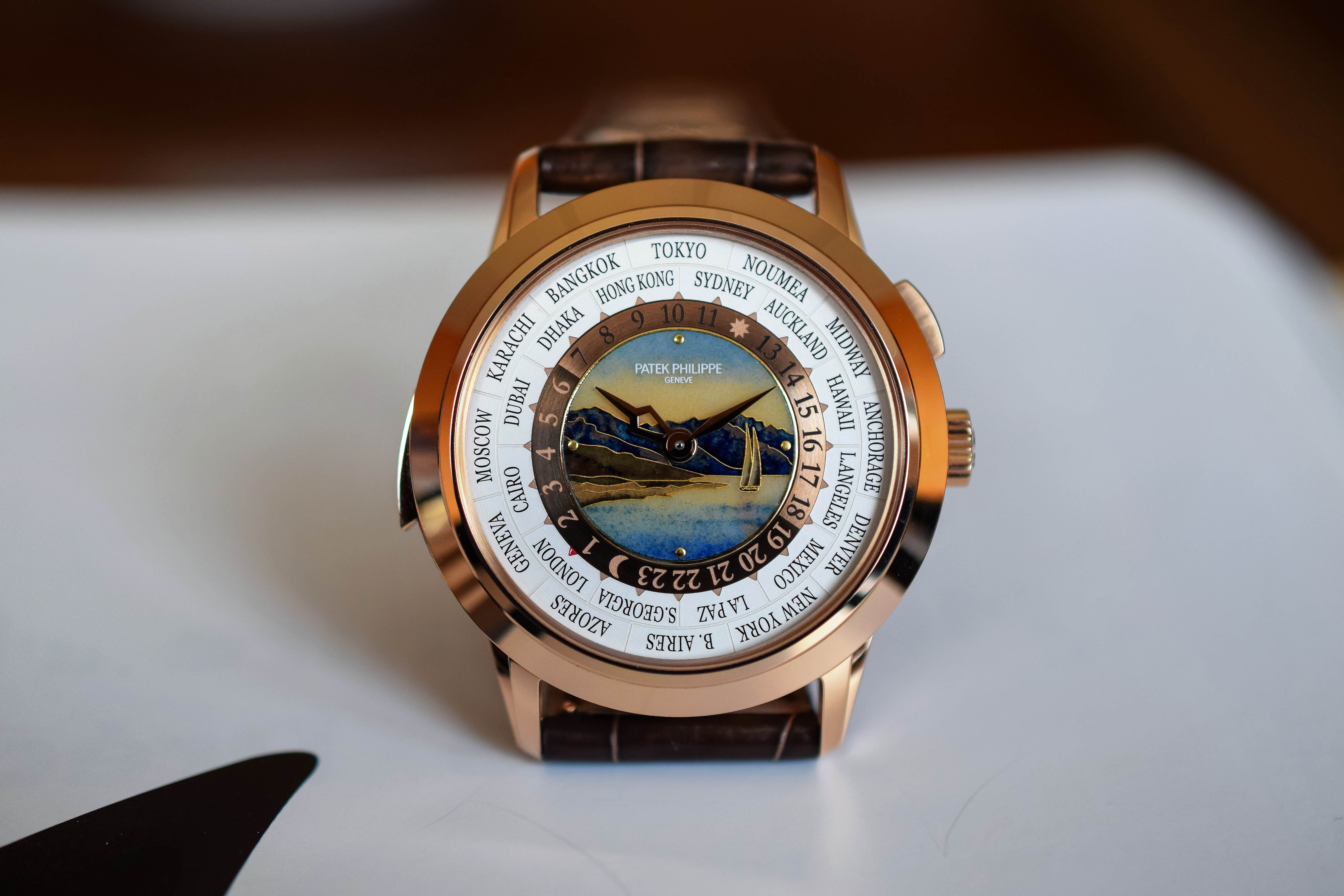 Patek Philippe World-Time Minute Repeater 5531R - 9