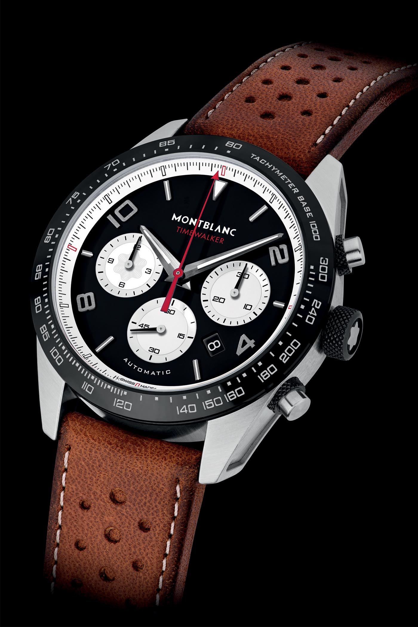 Pre-SIHH 2019 - Montblanc TimeWalker Reverse Panda Chronographs - 3