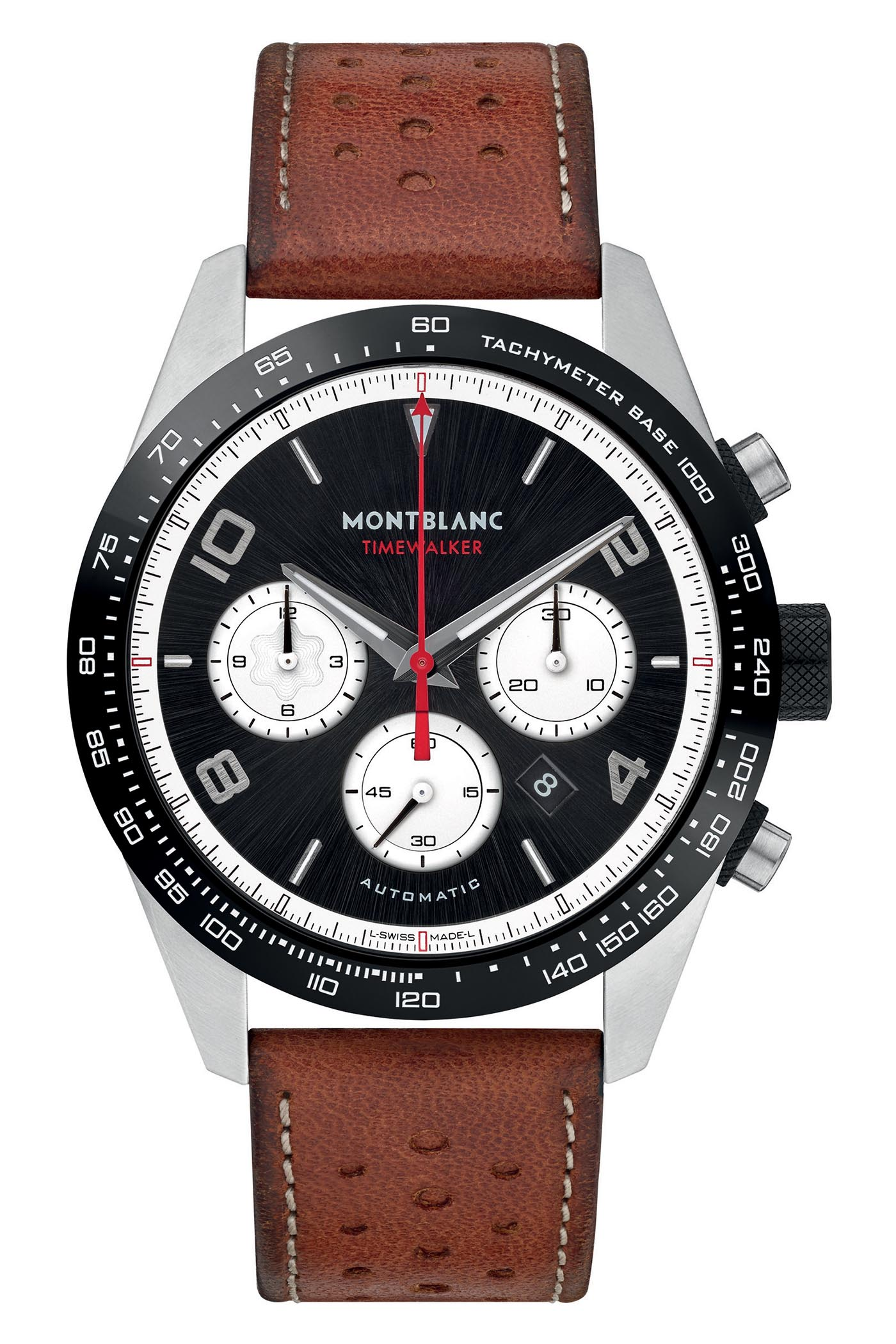 Pre-SIHH 2019 - Montblanc TimeWalker Reverse Panda Chronographs - 4